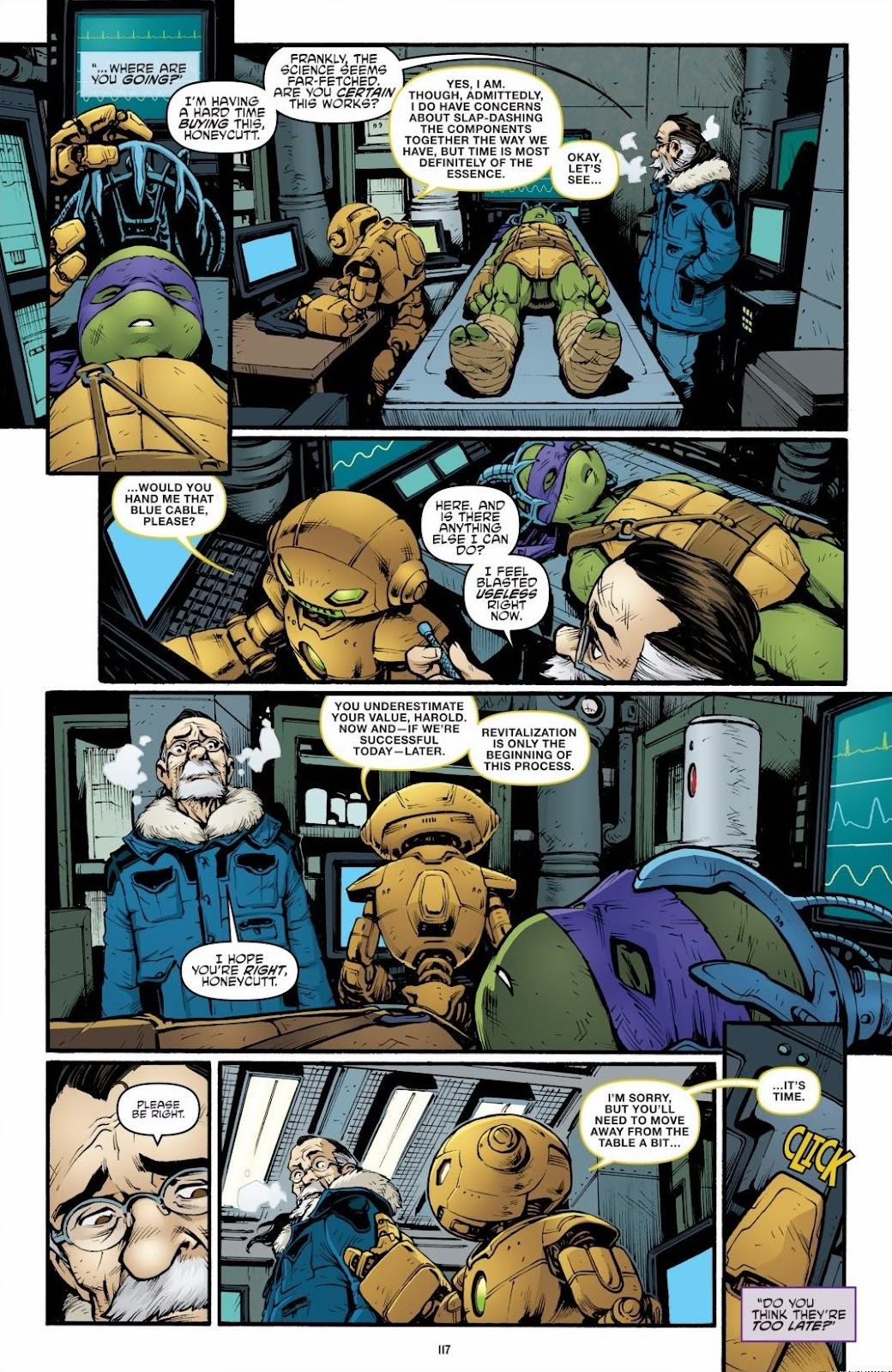Read online Teenage Mutant Ninja Turtles: The IDW Collection comic -  Issue # TPB 6 (Part 2) - 16