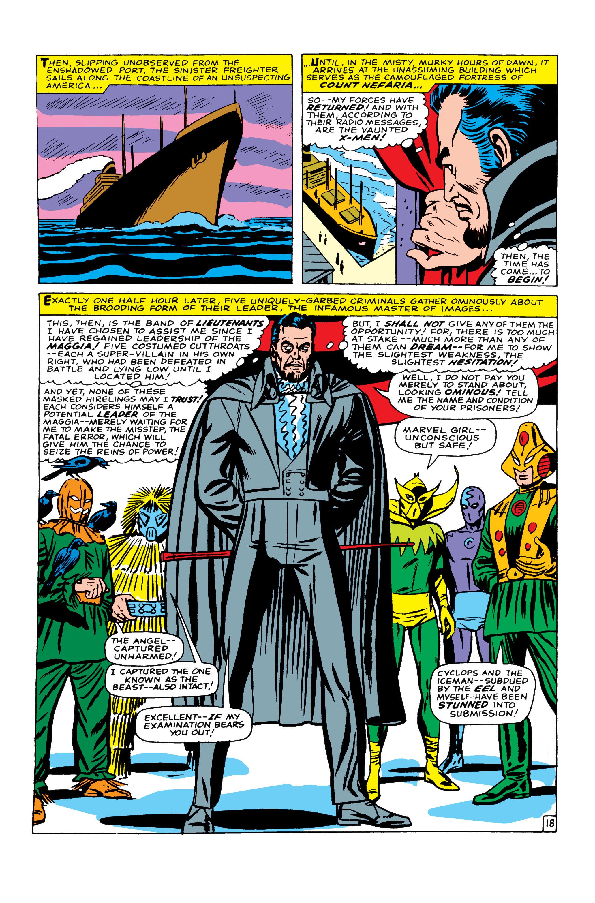 Read online Uncanny X-Men (1963) comic -  Issue #22 - 19