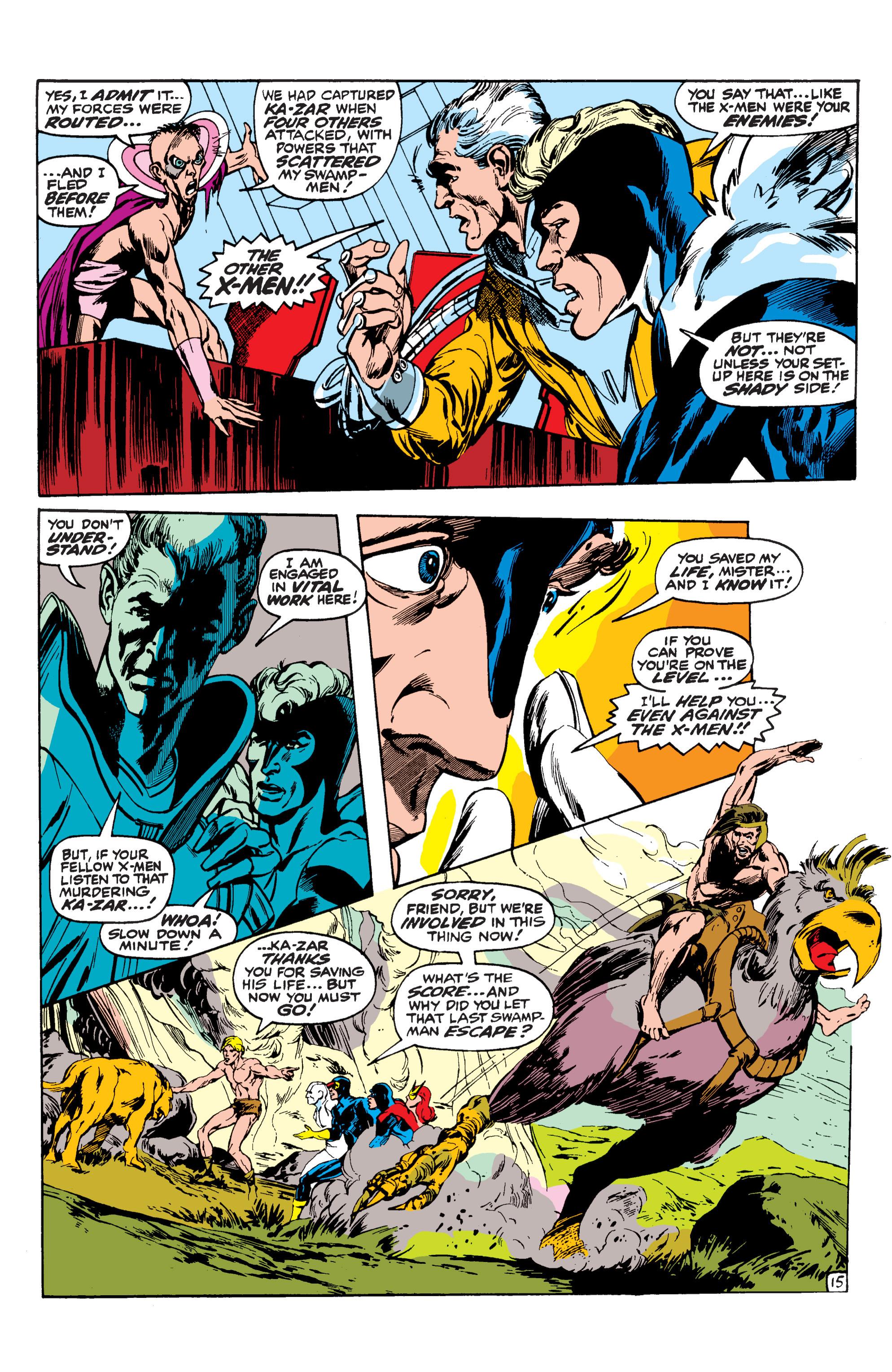 Uncanny X-Men (1963) 62 Page 15