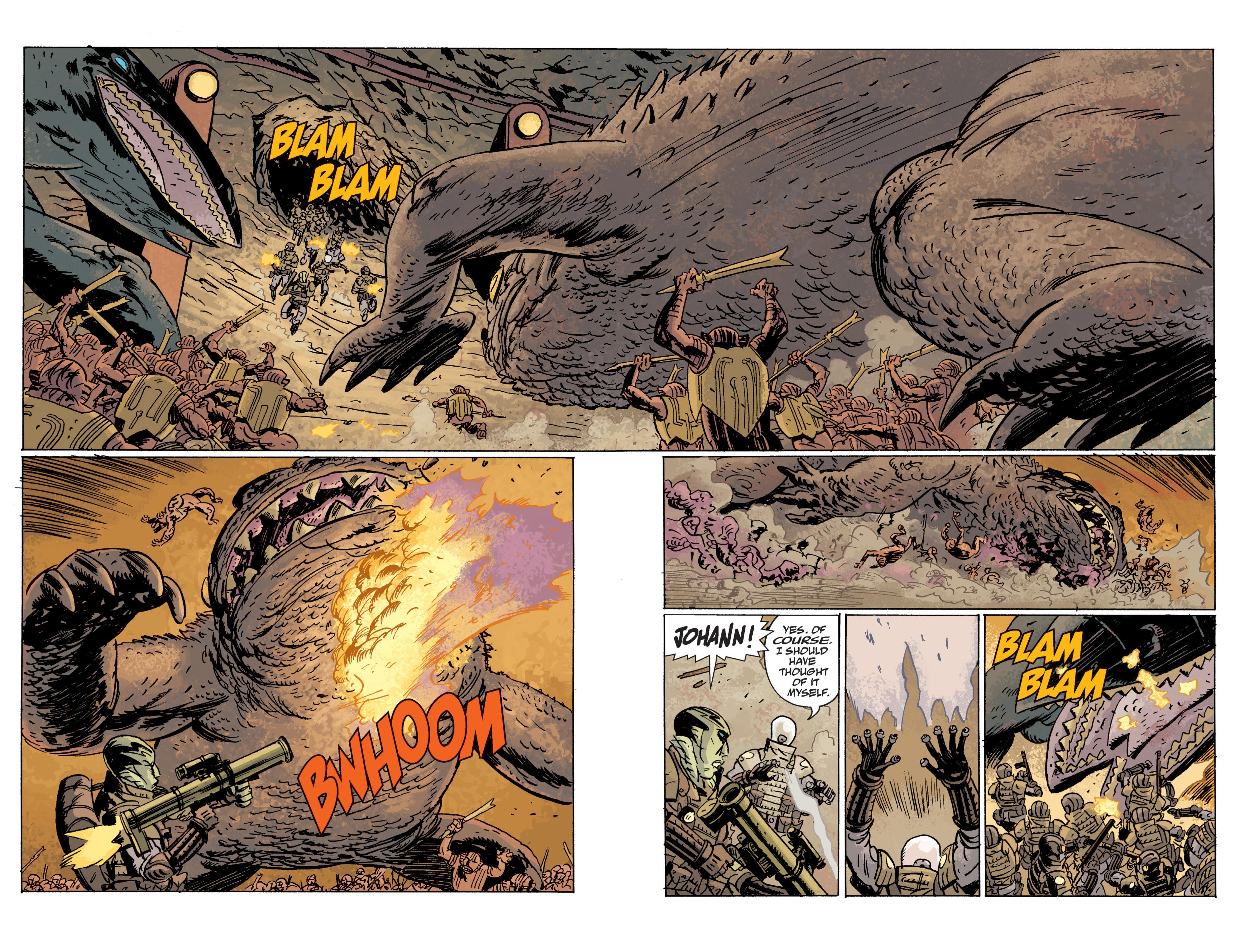Read online B.P.R.D. (2003) comic -  Issue # TPB 10 - 108