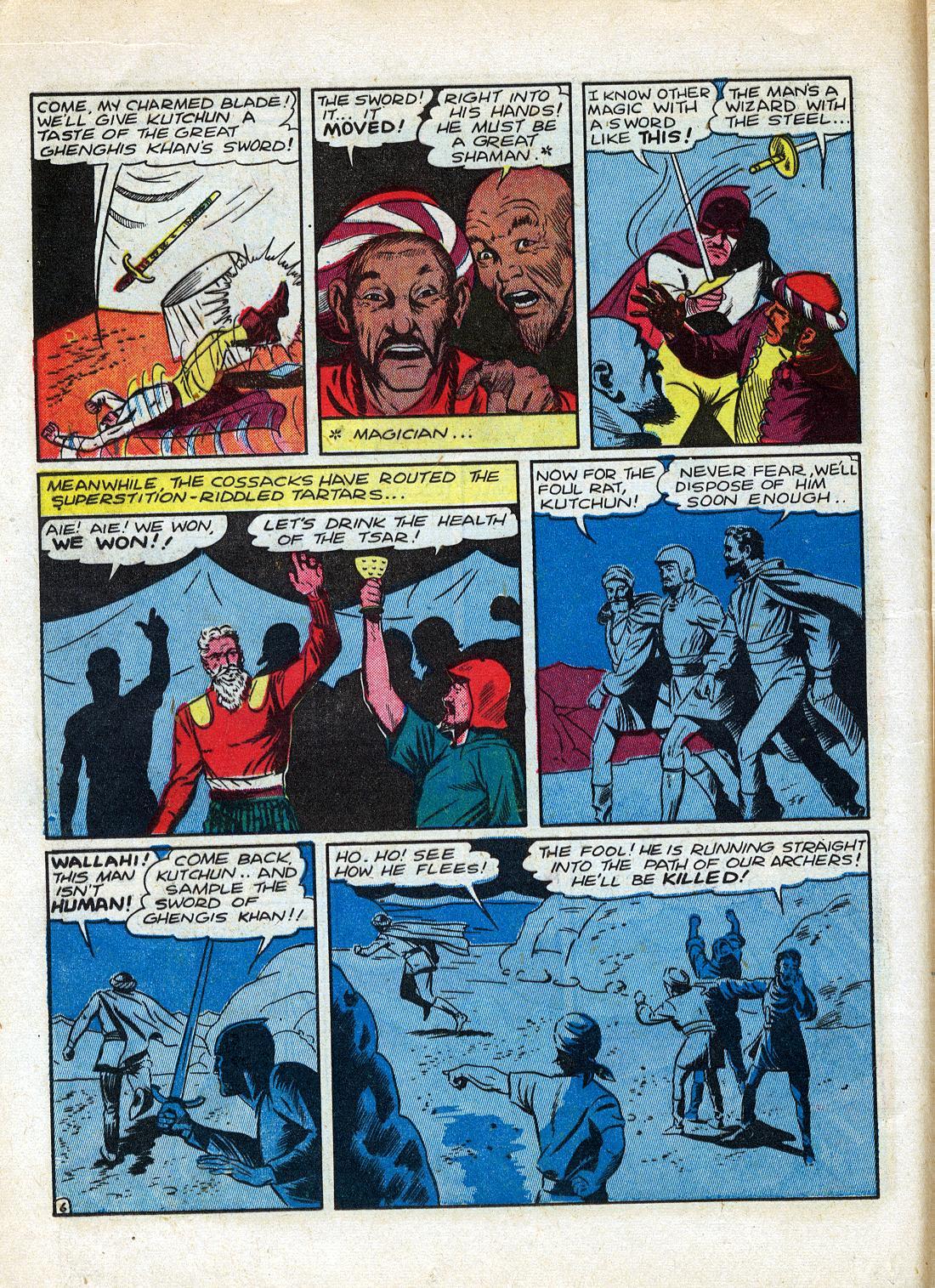Read online Sensation (Mystery) Comics comic -  Issue #26 - 22