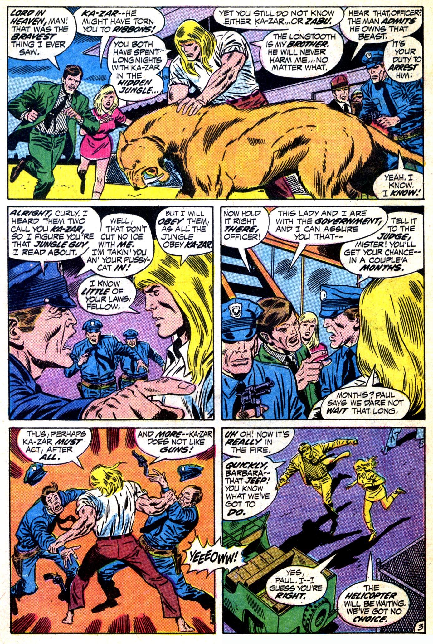 Read online Astonishing Tales (1970) comic -  Issue #12 - 4