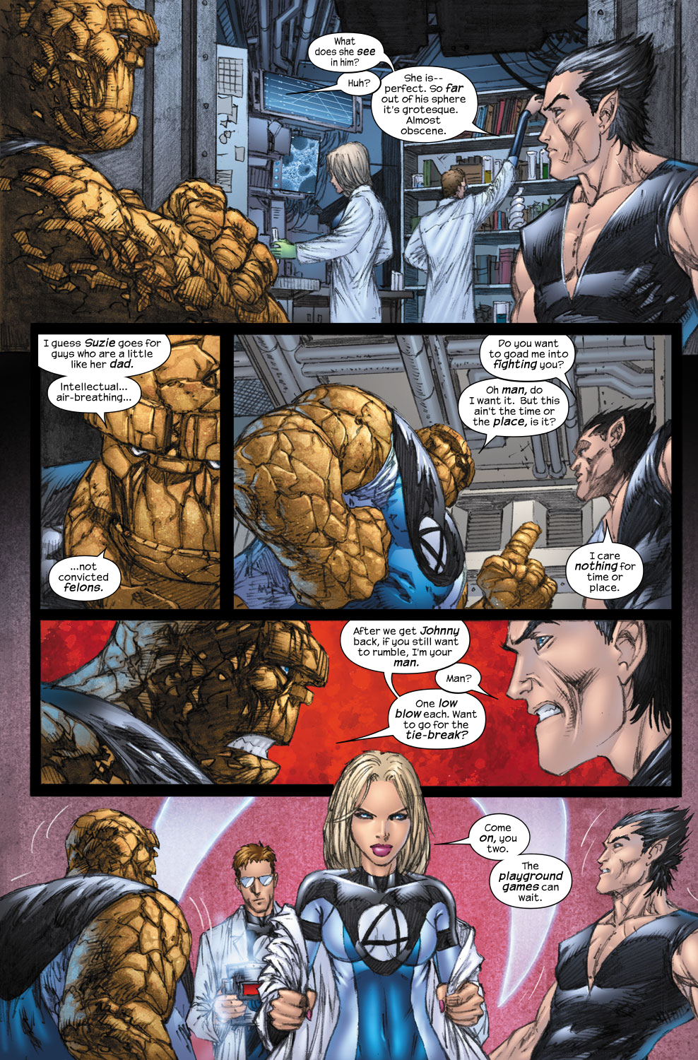 Read online Ultimate Fantastic Four (2004) comic -  Issue #57 - 11
