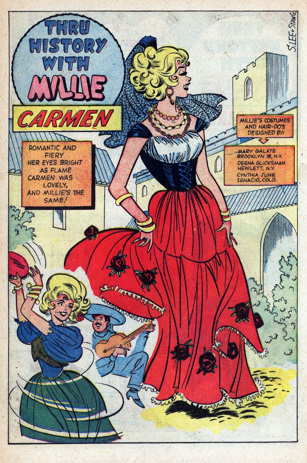 Read online Millie the Model comic -  Issue # Annual 1 - 52