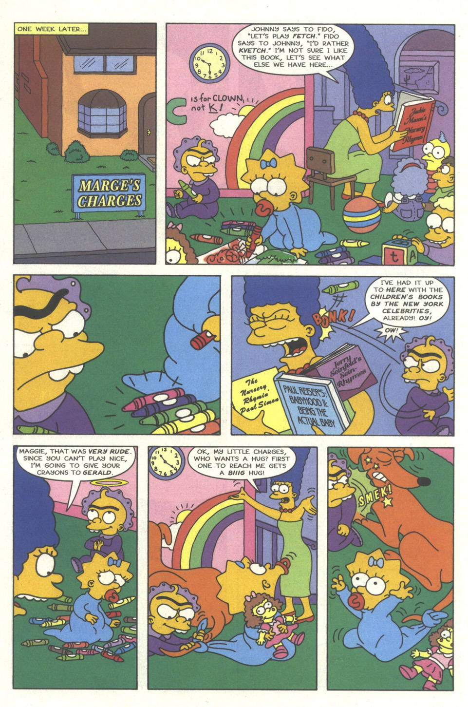 Read online Simpsons Comics comic -  Issue #35 - 9