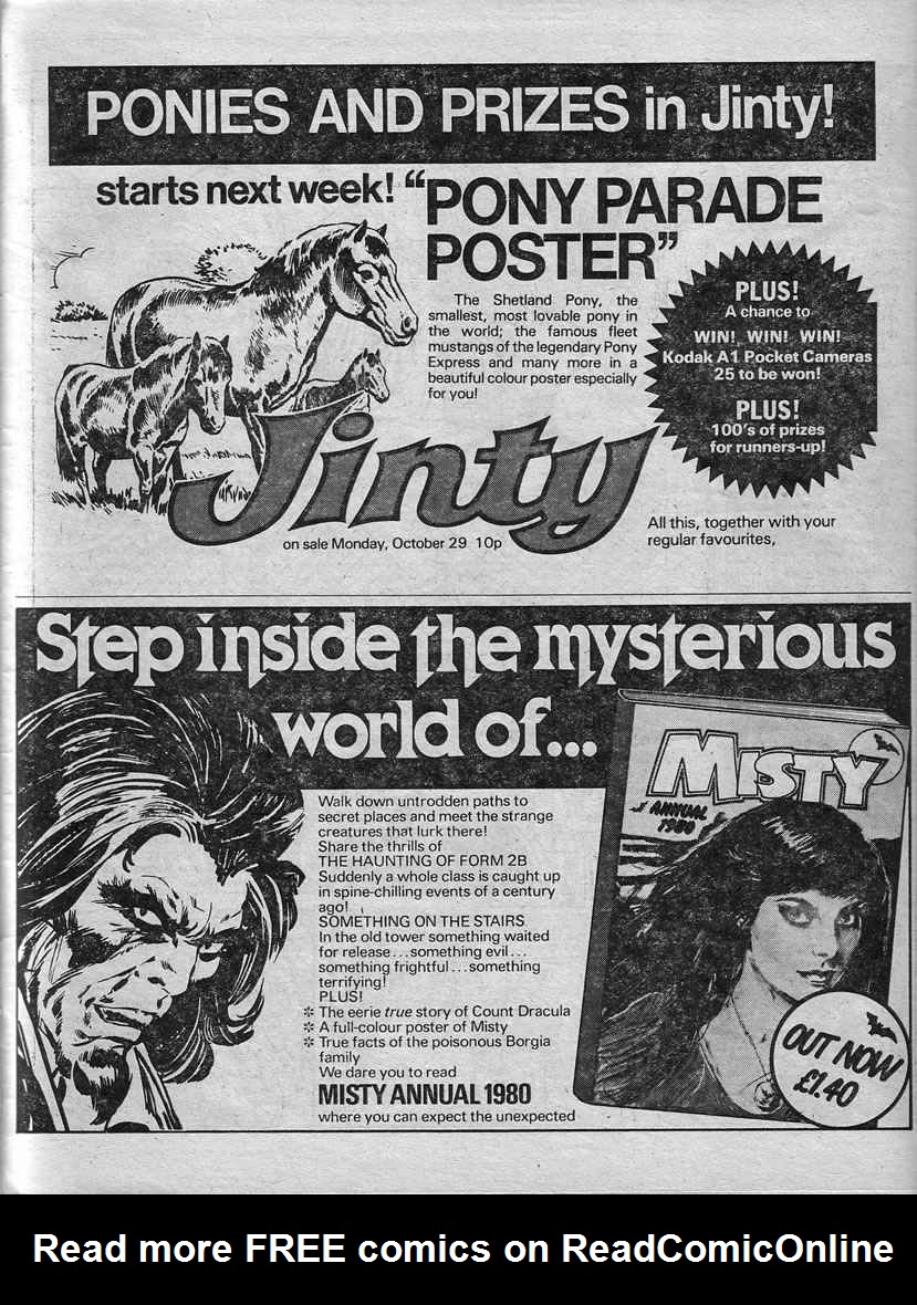 Read online Misty comic -  Issue #90 - 27