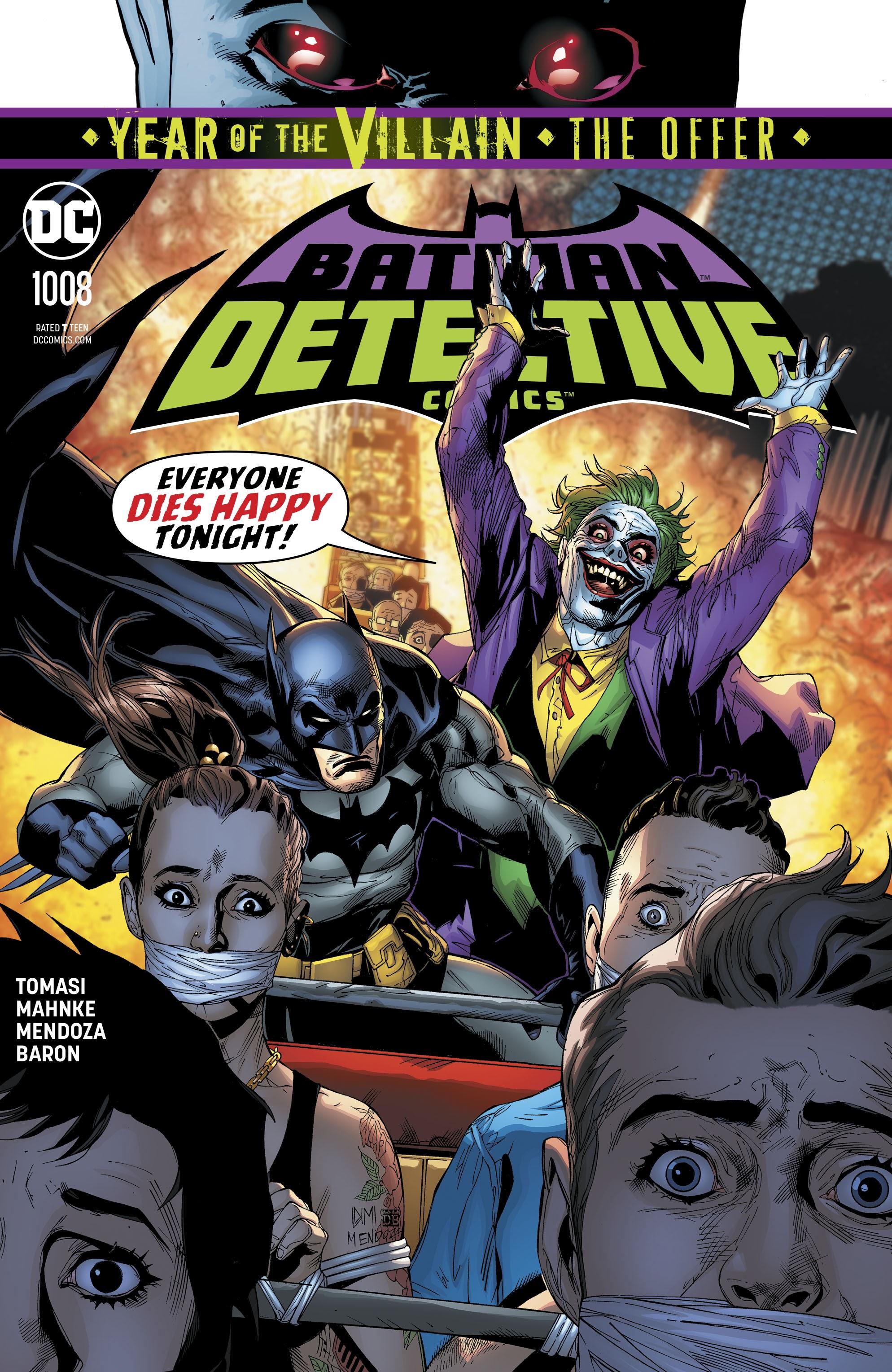 Detective Comics (2016) 1008 Page 1
