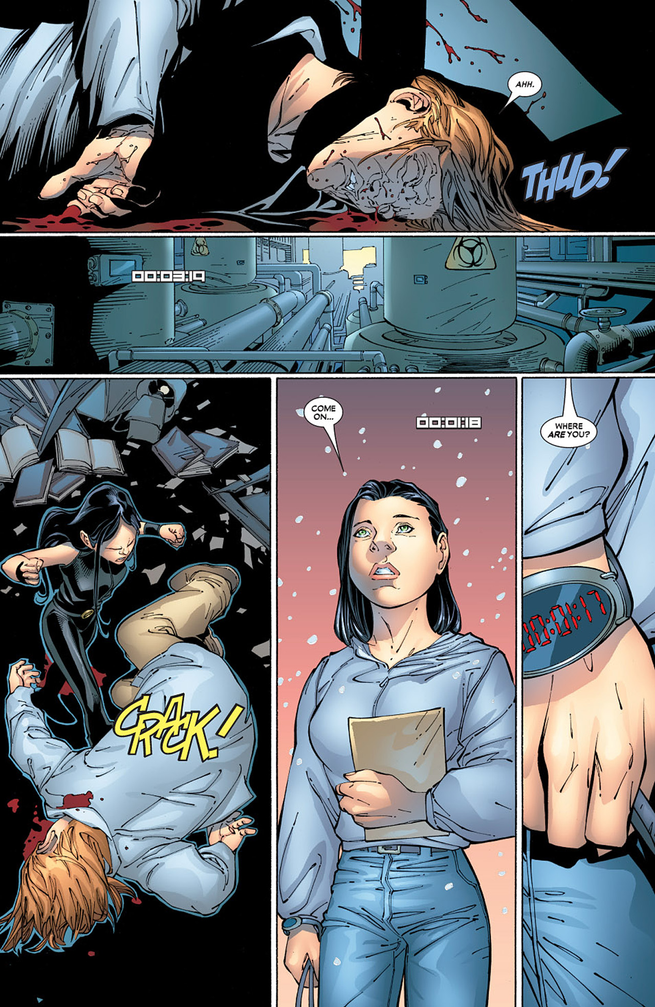 Read online X-23 (2005) comic -  Issue #6 - 17