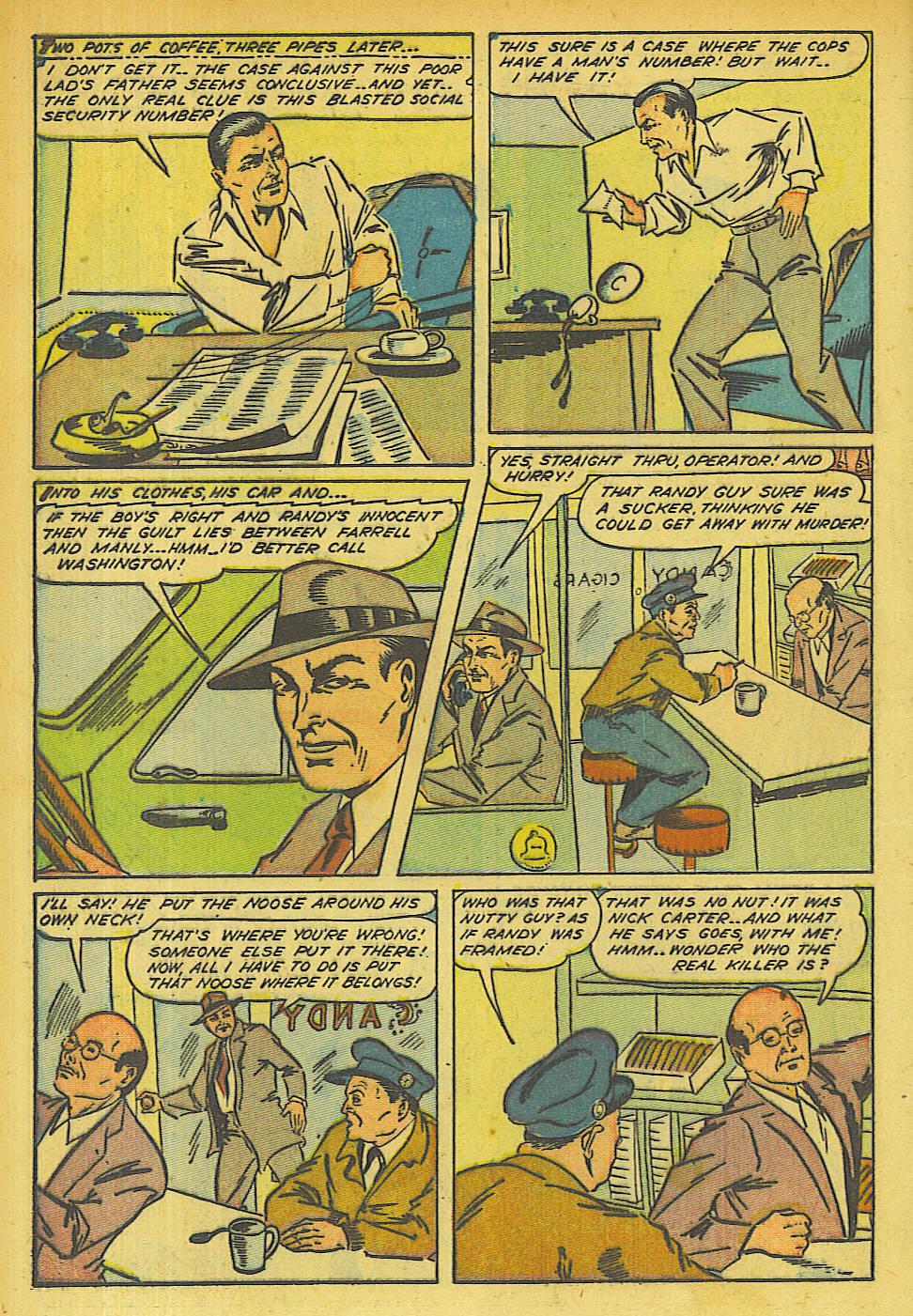 Read online Shadow Comics comic -  Issue #63 - 16