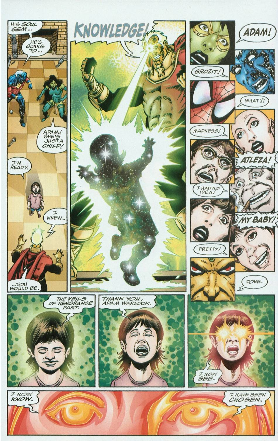 Read online Infinity Abyss comic -  Issue #6 - 7