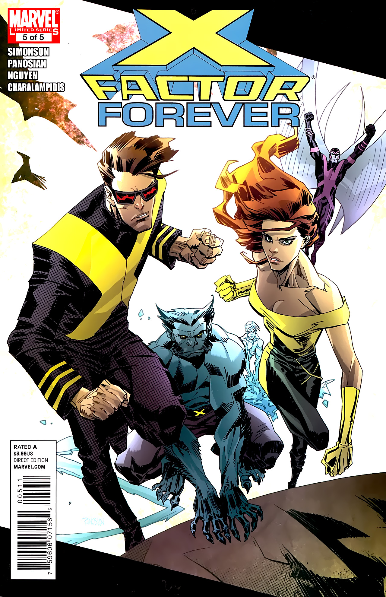 Read online X-Factor Forever comic -  Issue #5 - 1
