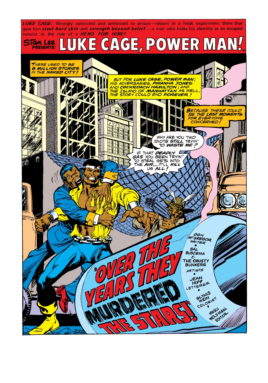 Read online Marvel Masterworks: Luke Cage, Power Man comic -  Issue # TPB 2 (Part 3) - 78