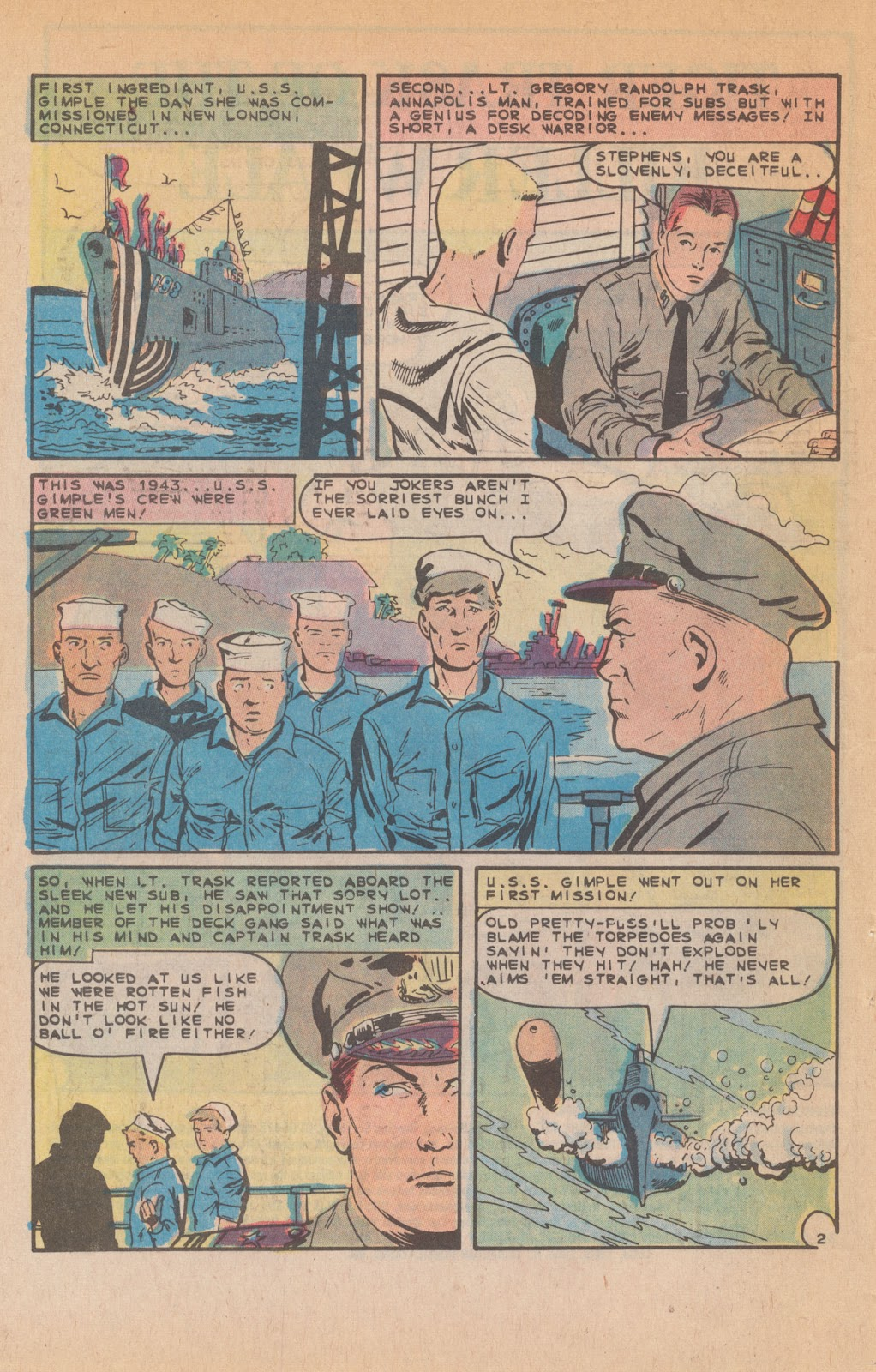 Read online Fightin' Navy comic -  Issue #132 - 4
