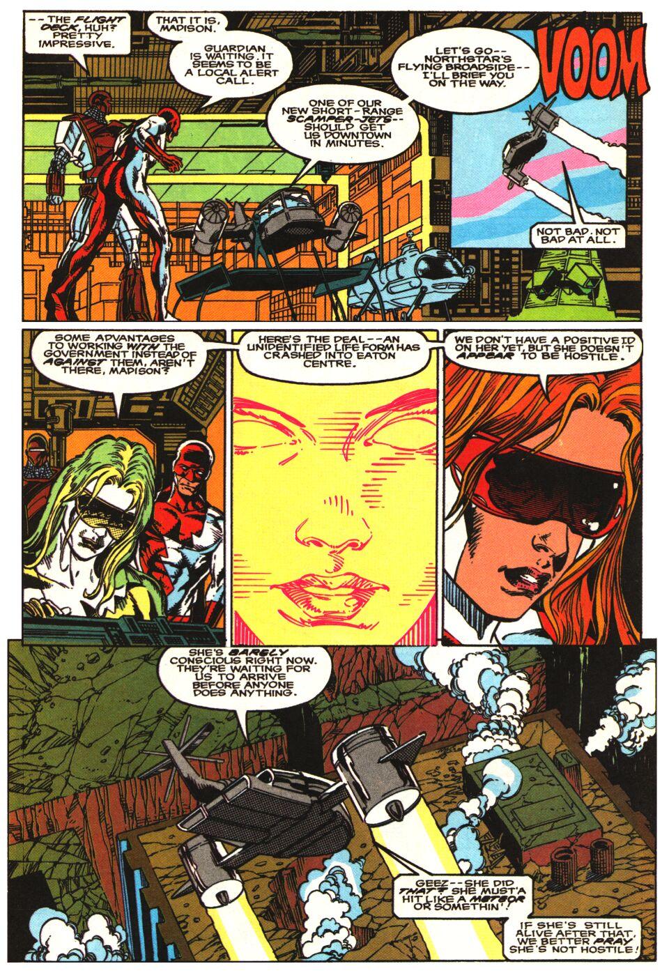 Read online Alpha Flight Special comic -  Issue #1 - 15