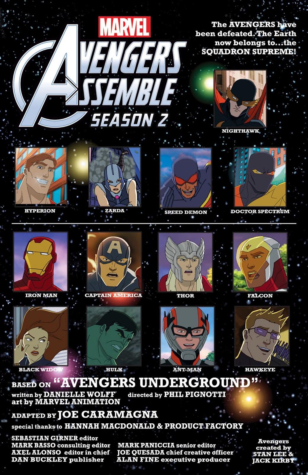Read online Marvel Universe Avengers Assemble Season 2 comic -  Issue #14 - 4