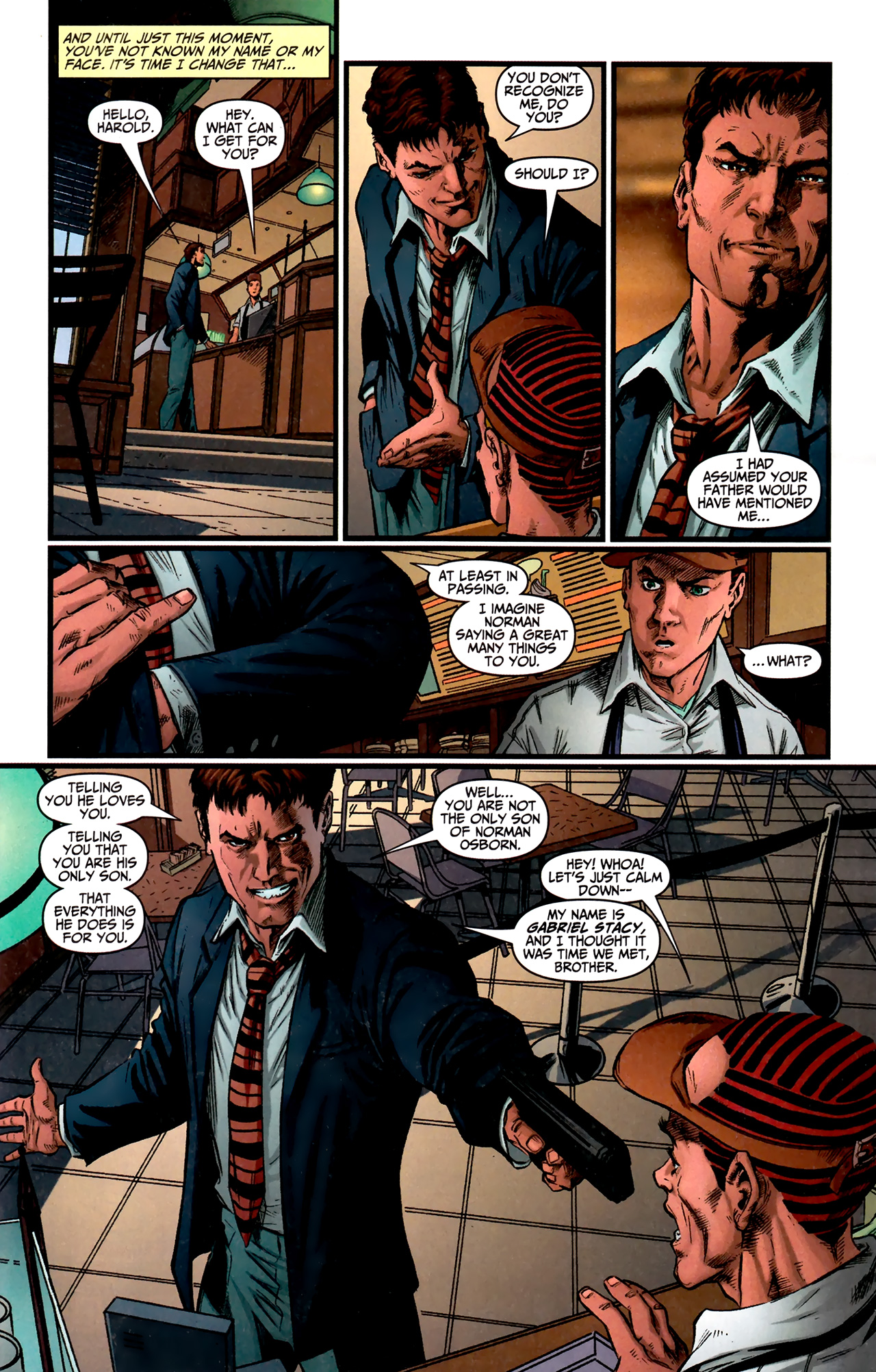 Read online Amazing Spider-Man Presents: American Son comic -  Issue #1 - 23
