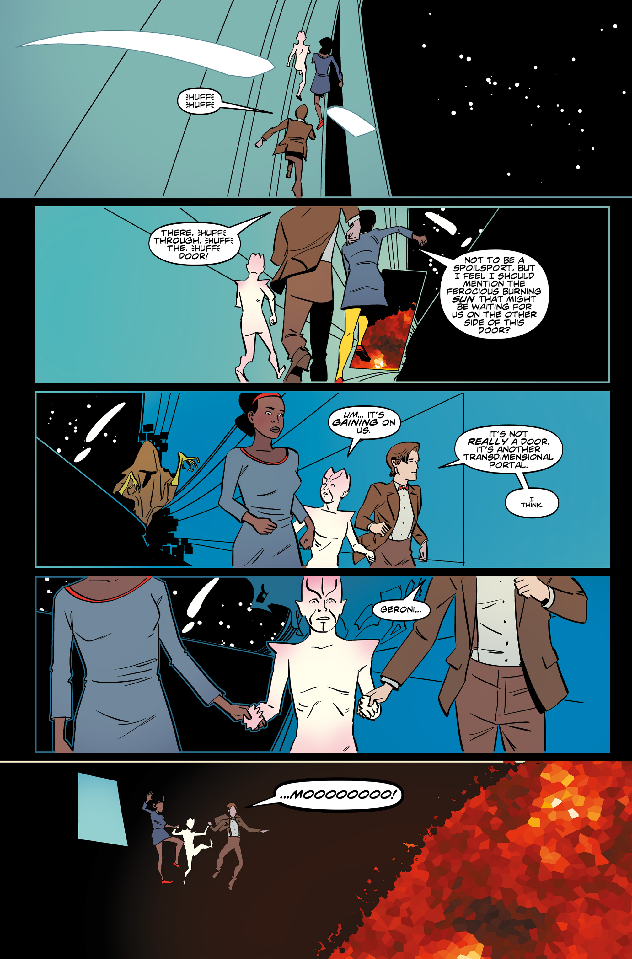 Read online Doctor Who: The Eleventh Doctor Year Three comic -  Issue #6 - 17