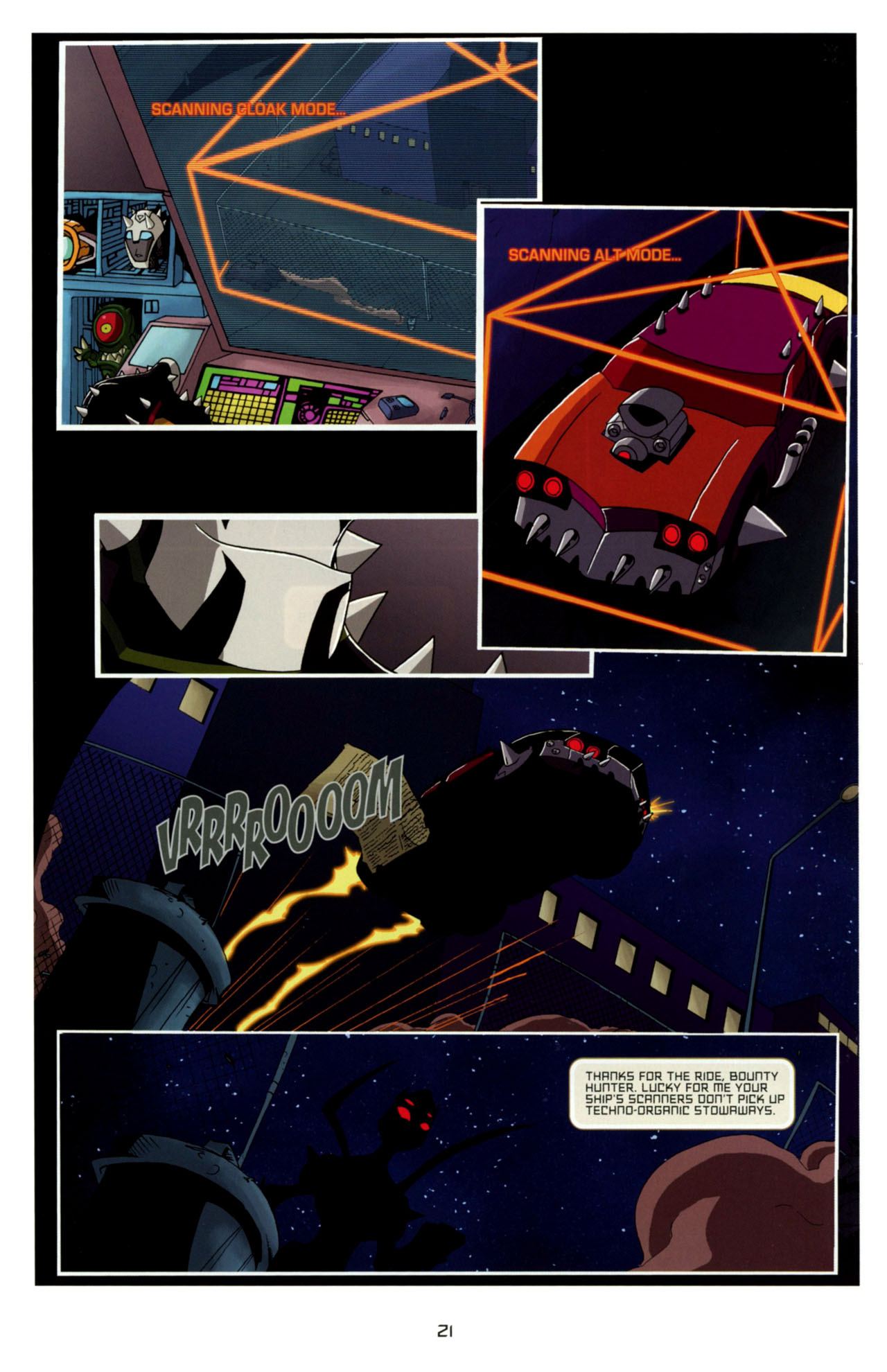 Read online Transformers Animated: The Arrival comic -  Issue #4 - 24