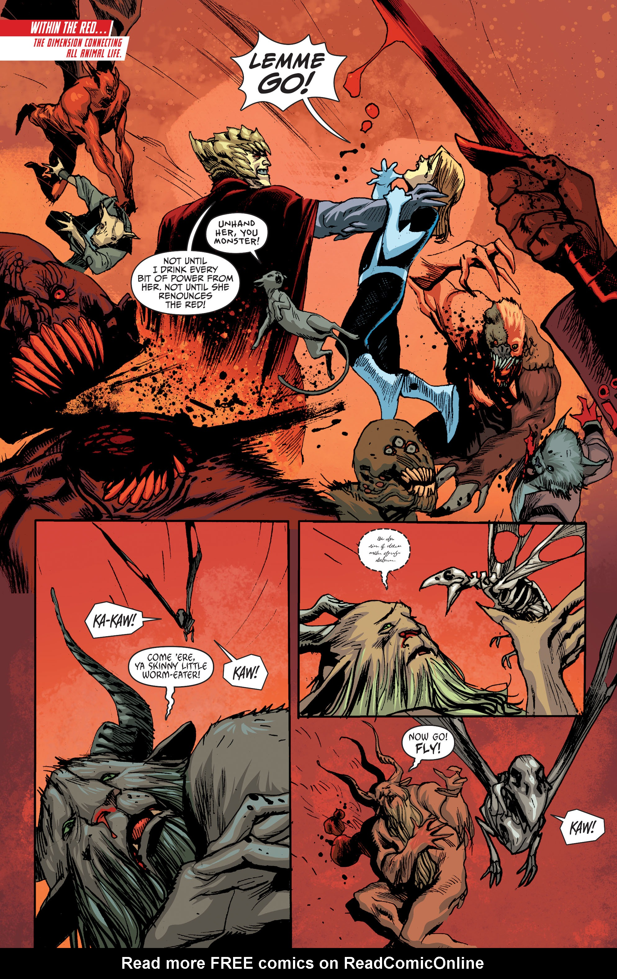 Read online Animal Man (2011) comic -  Issue #28 - 2
