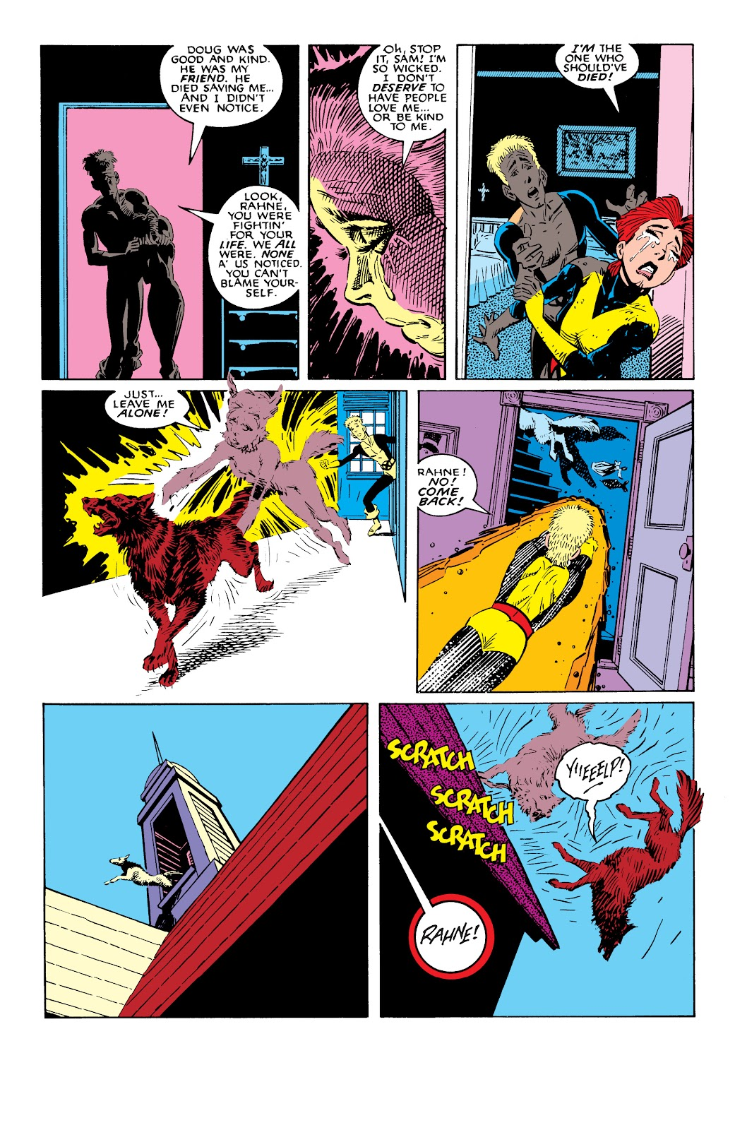 Read online X-Men Milestones: Fall of the Mutants comic -  Issue # TPB (Part 2) - 68