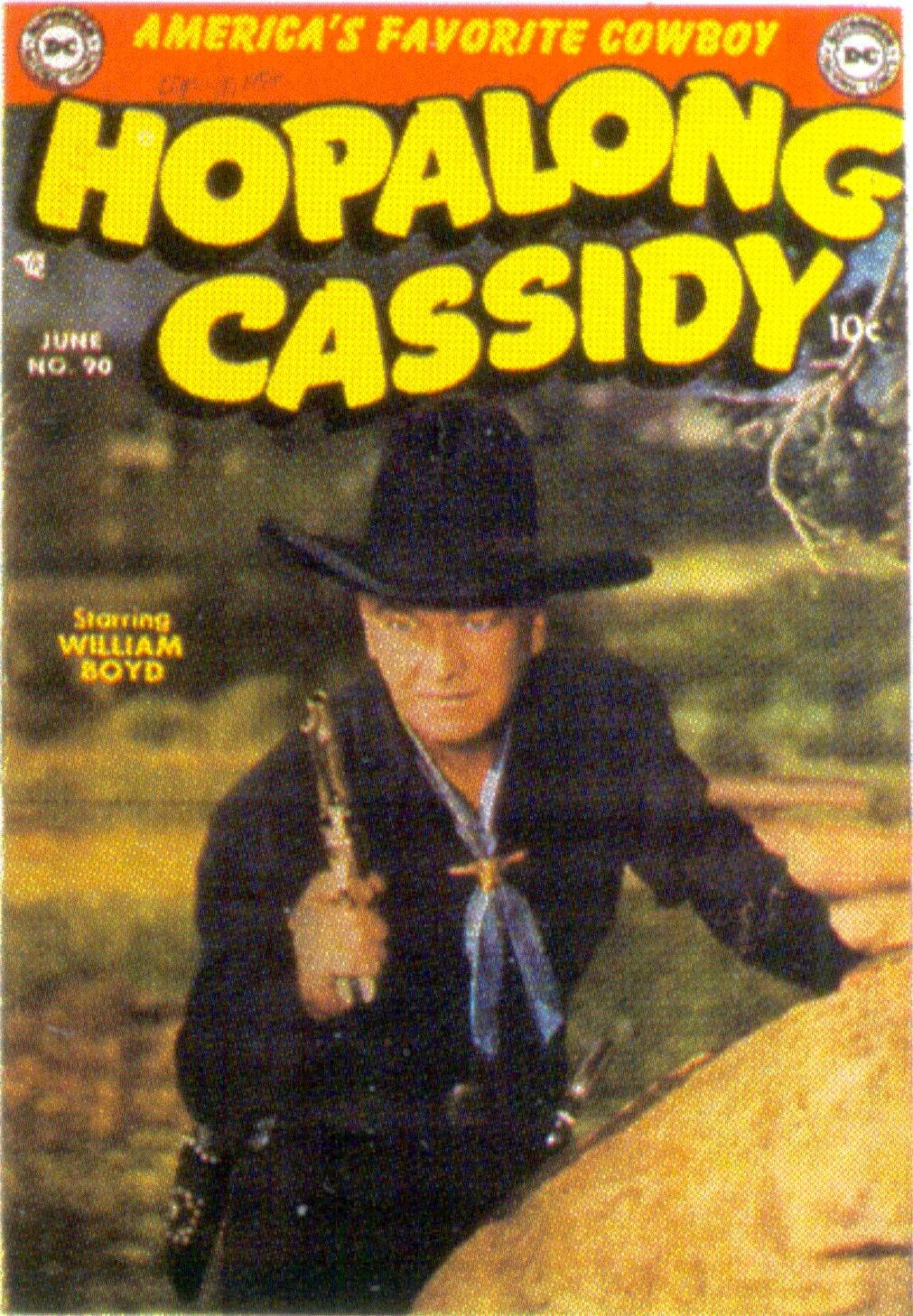 Hopalong Cassidy issue 90 - Page 1
