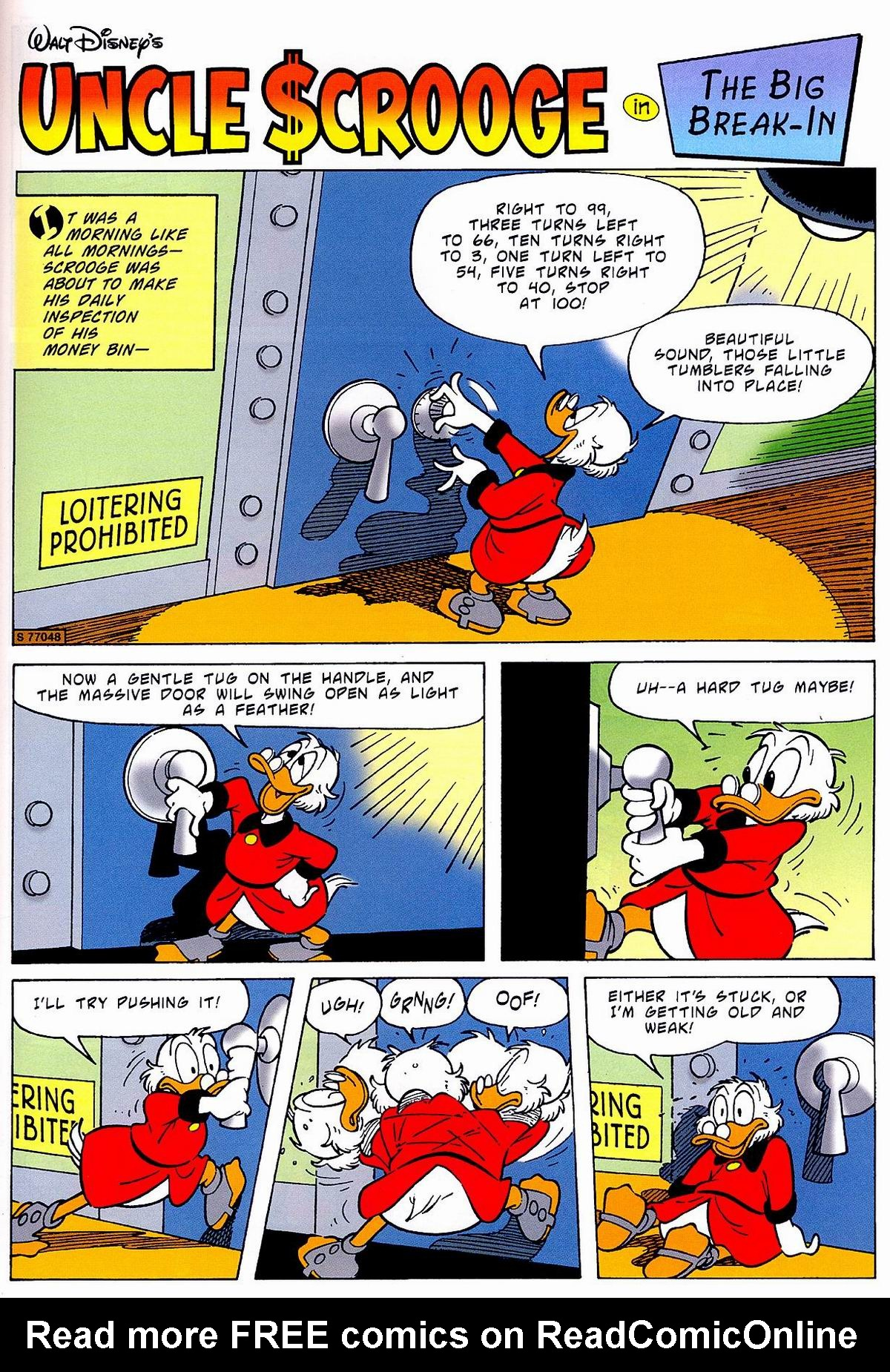 Read online Uncle Scrooge (1953) comic -  Issue #320 - 21