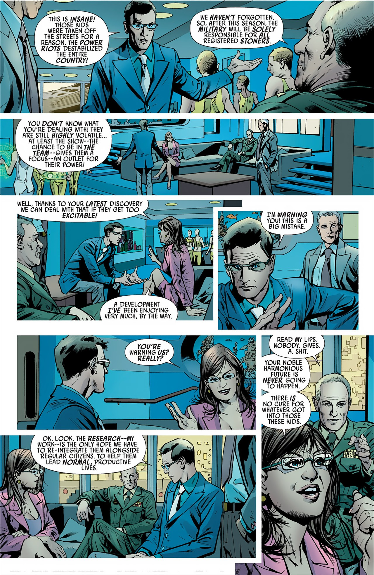 Read online America's Got Powers comic -  Issue #2 - 15