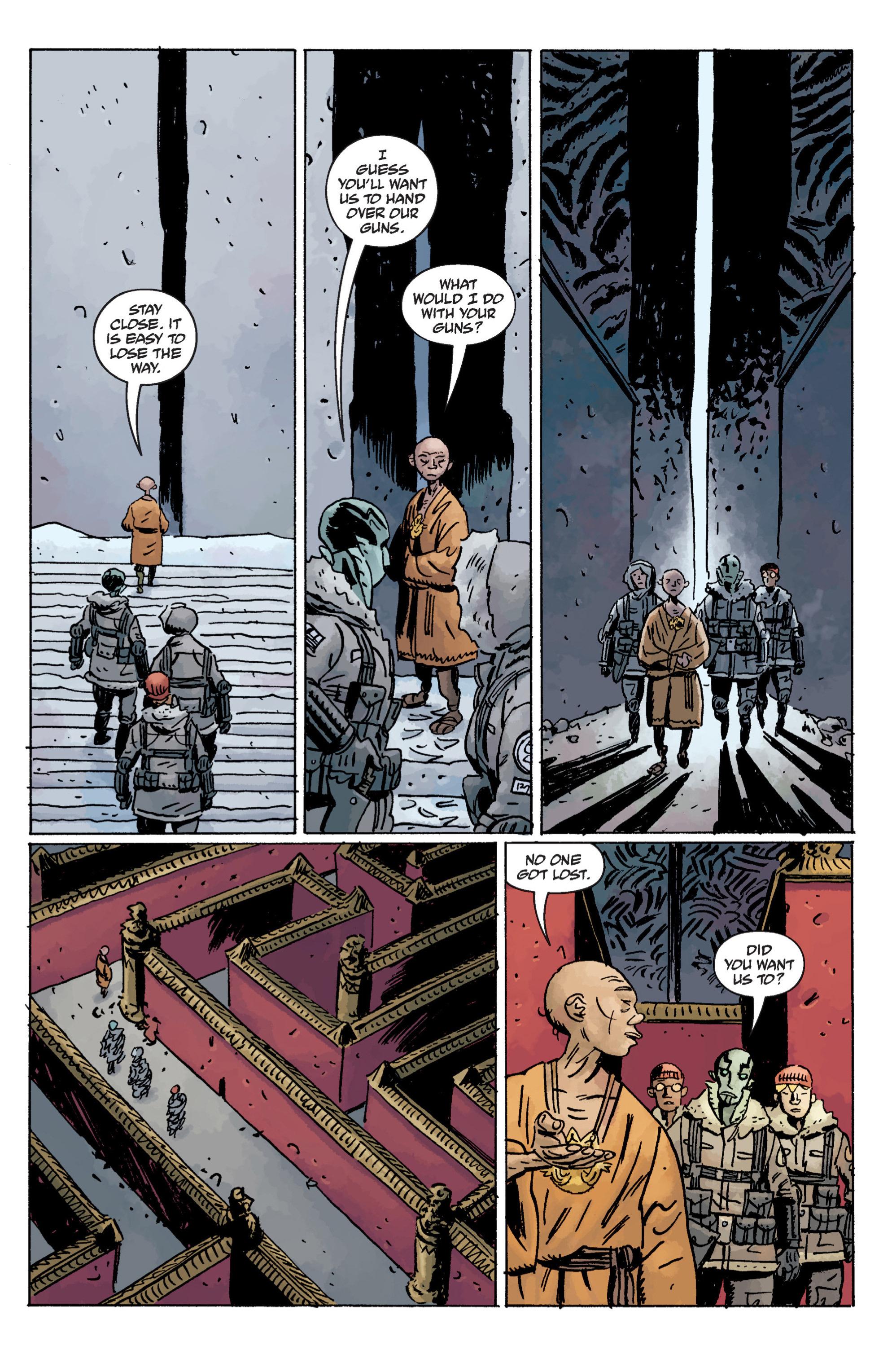 Read online B.P.R.D. (2003) comic -  Issue # TPB 11 - 41