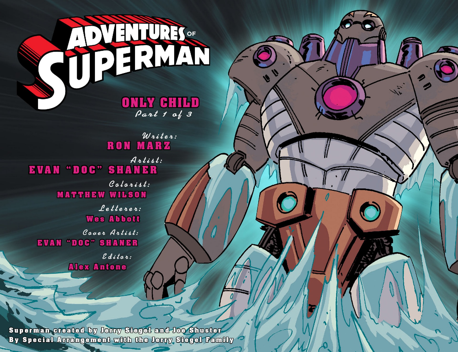 Read online Adventures of Superman [I] comic -  Issue #43 - 2