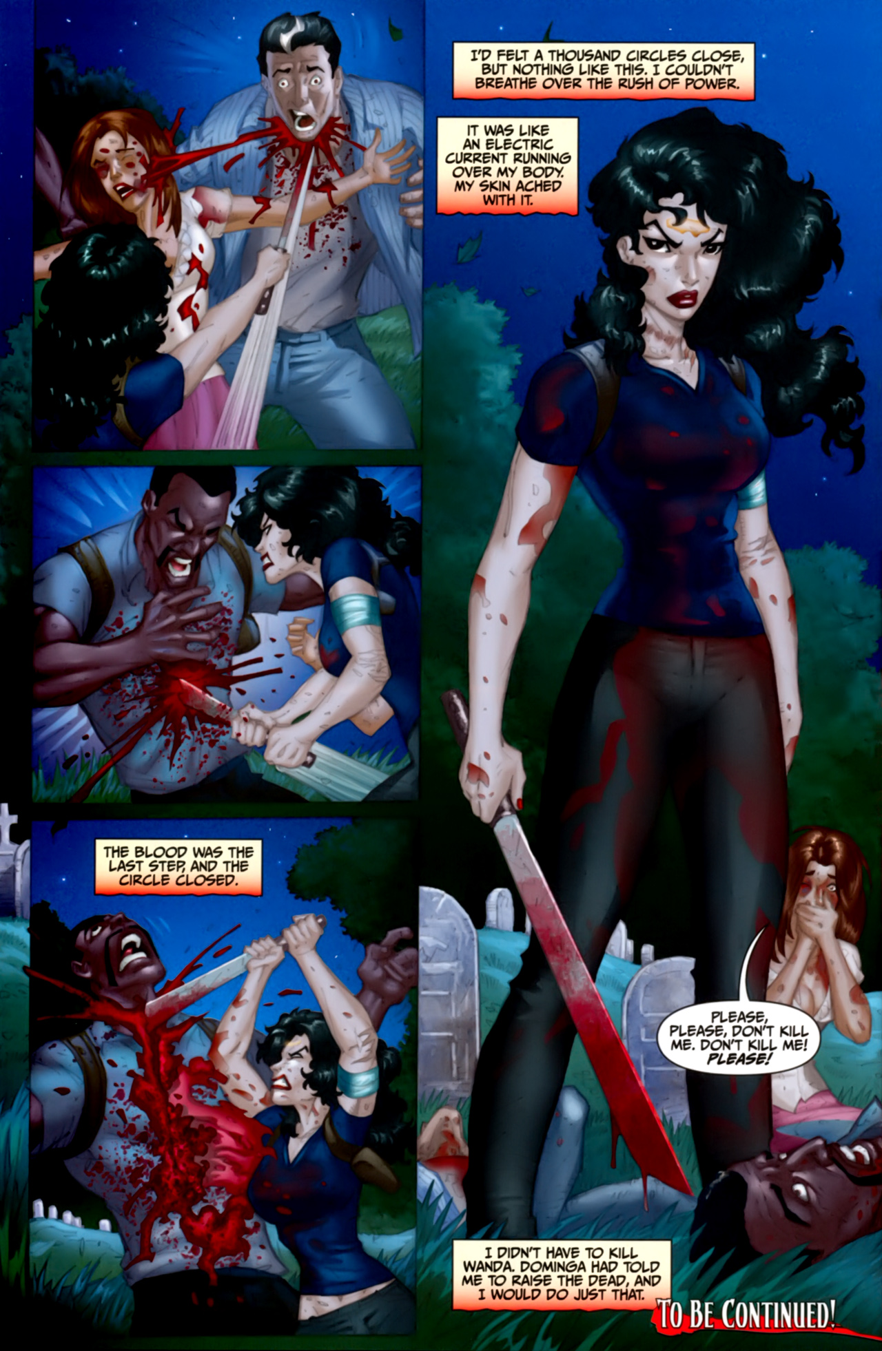 Read online Anita Blake: The Laughing Corpse - Executioner comic -  Issue #4 - 33