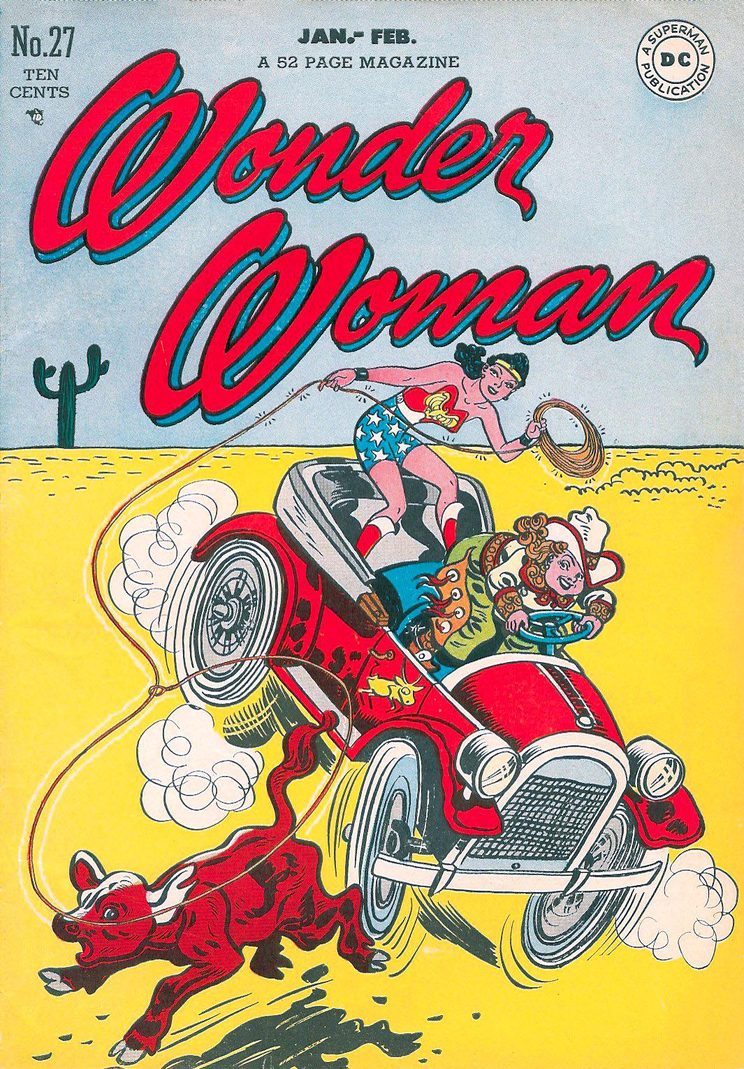 Read online Wonder Woman (1942) comic -  Issue #27 - 1