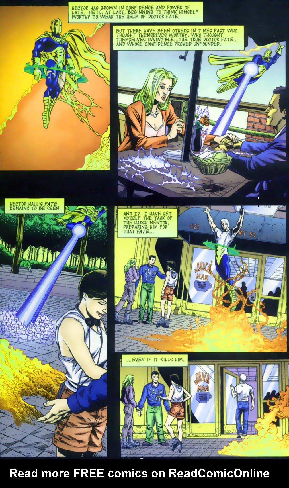 Read online Doctor Fate (2003) comic -  Issue #1 - 6