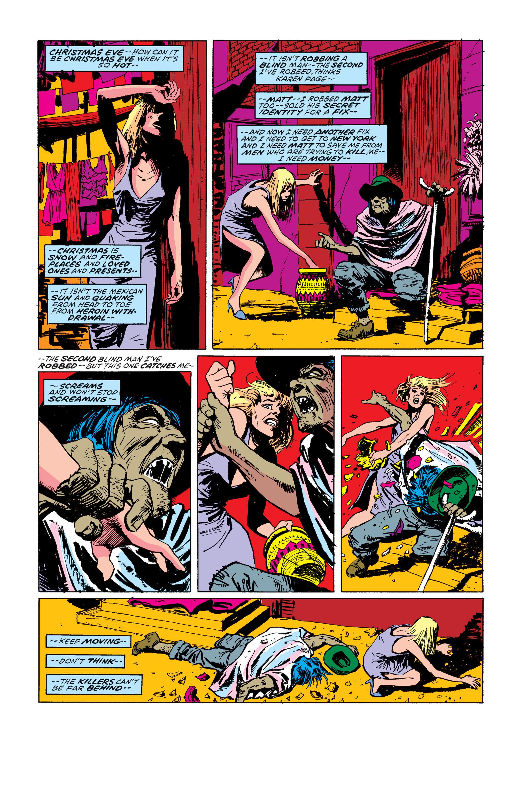 Read online Daredevil: Born Again comic -  Issue # Full - 87