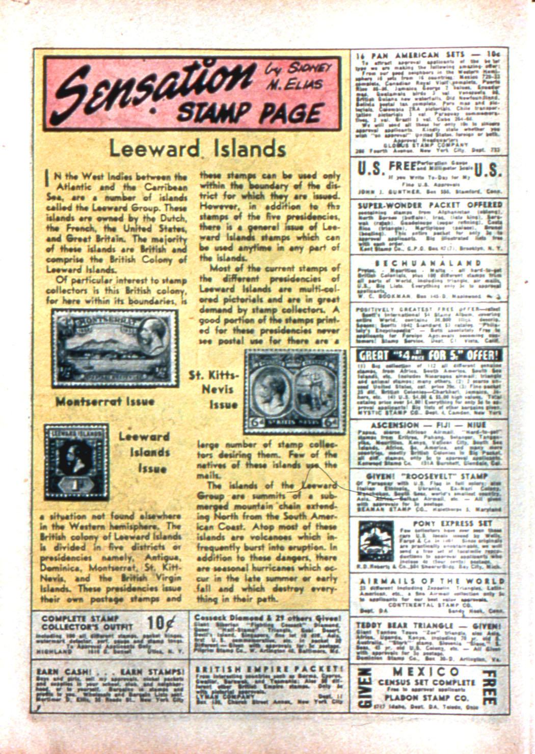 Read online Sensation (Mystery) Comics comic -  Issue #11 - 52