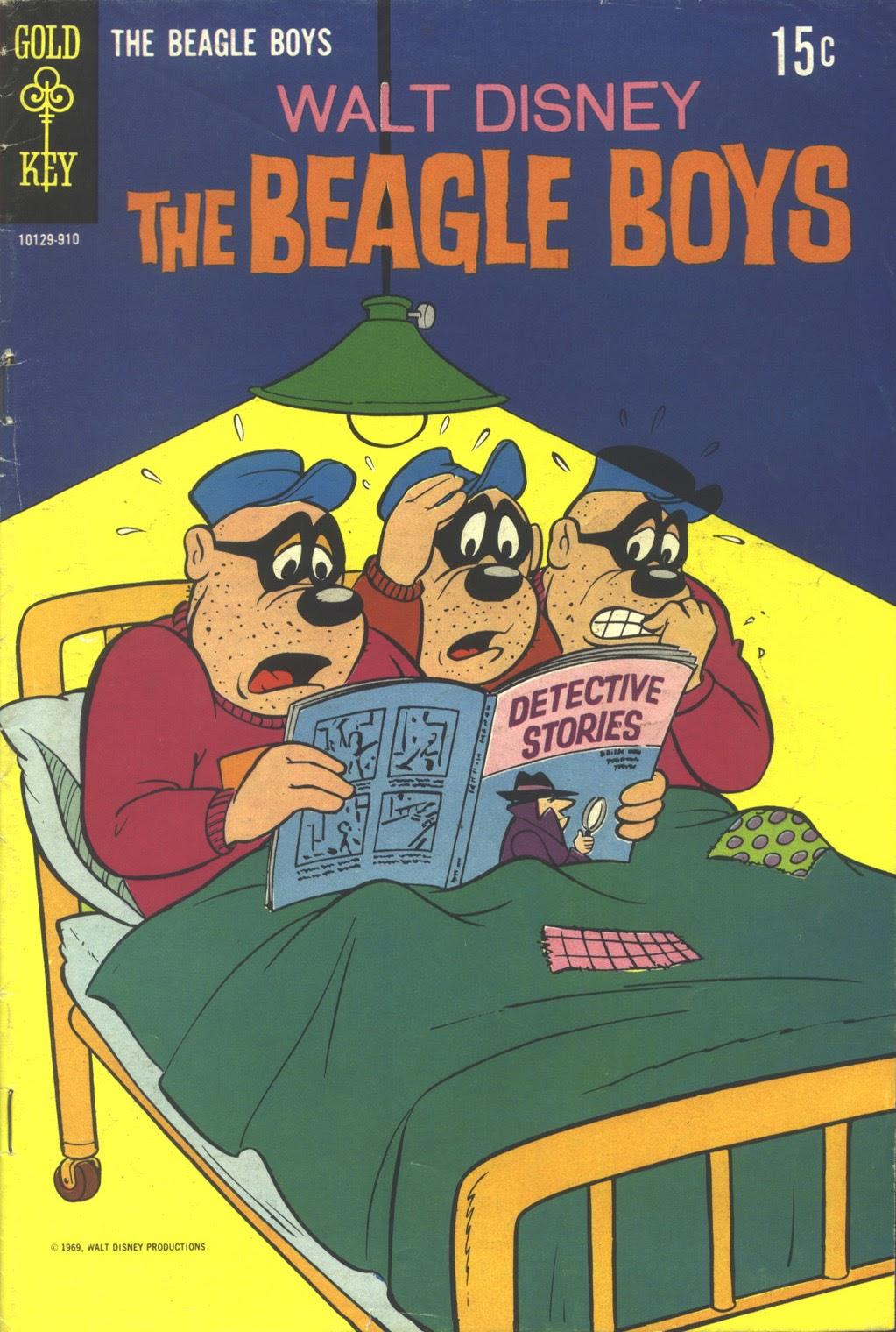 Walt Disney THE BEAGLE BOYS issue 8 - Page 1