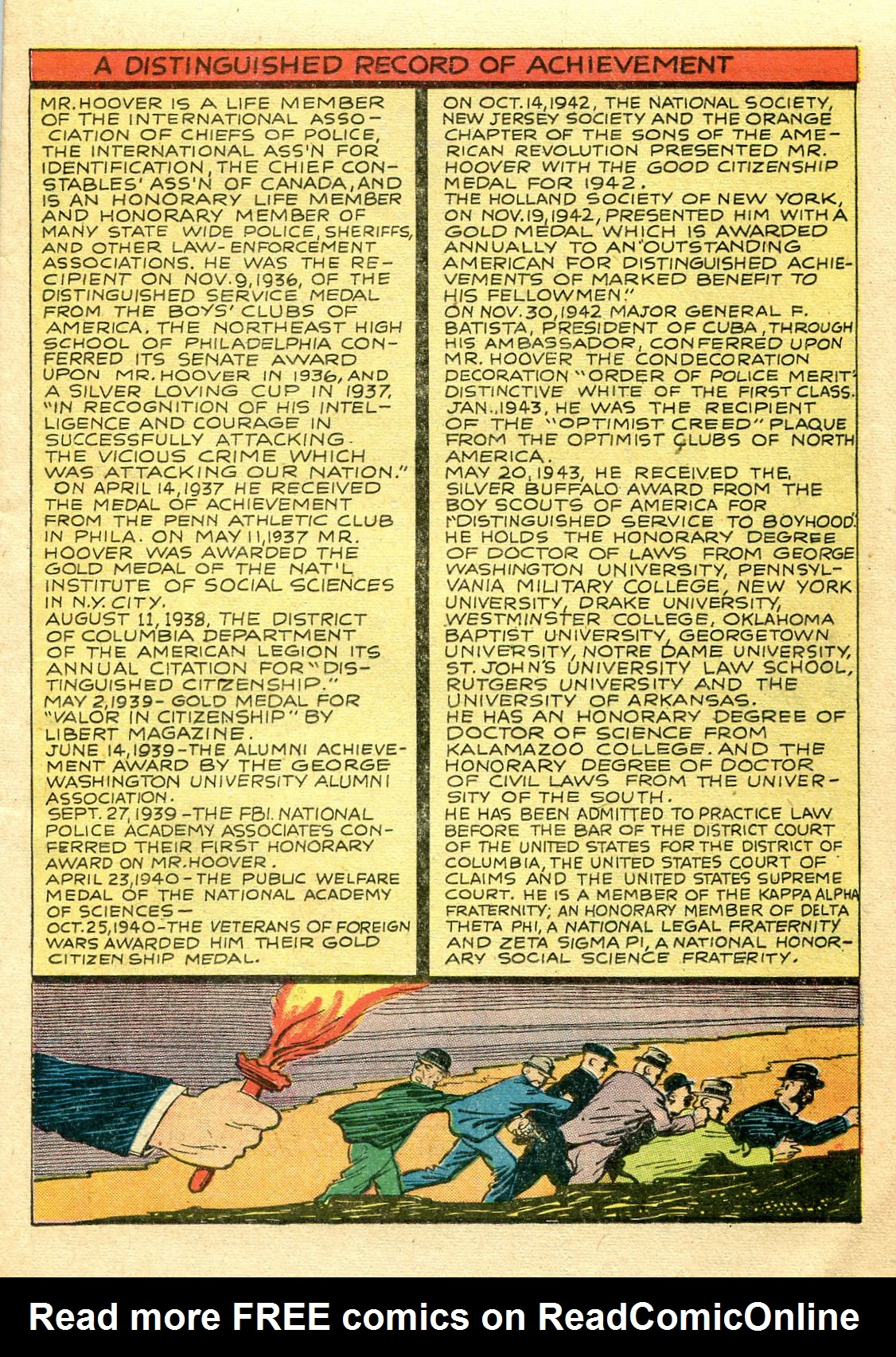 Read online Shadow Comics comic -  Issue #44 - 20
