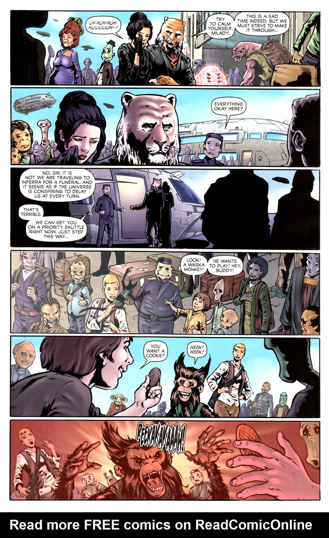 Read online Stargate Vala Mal Doran comic -  Issue #2 - 17