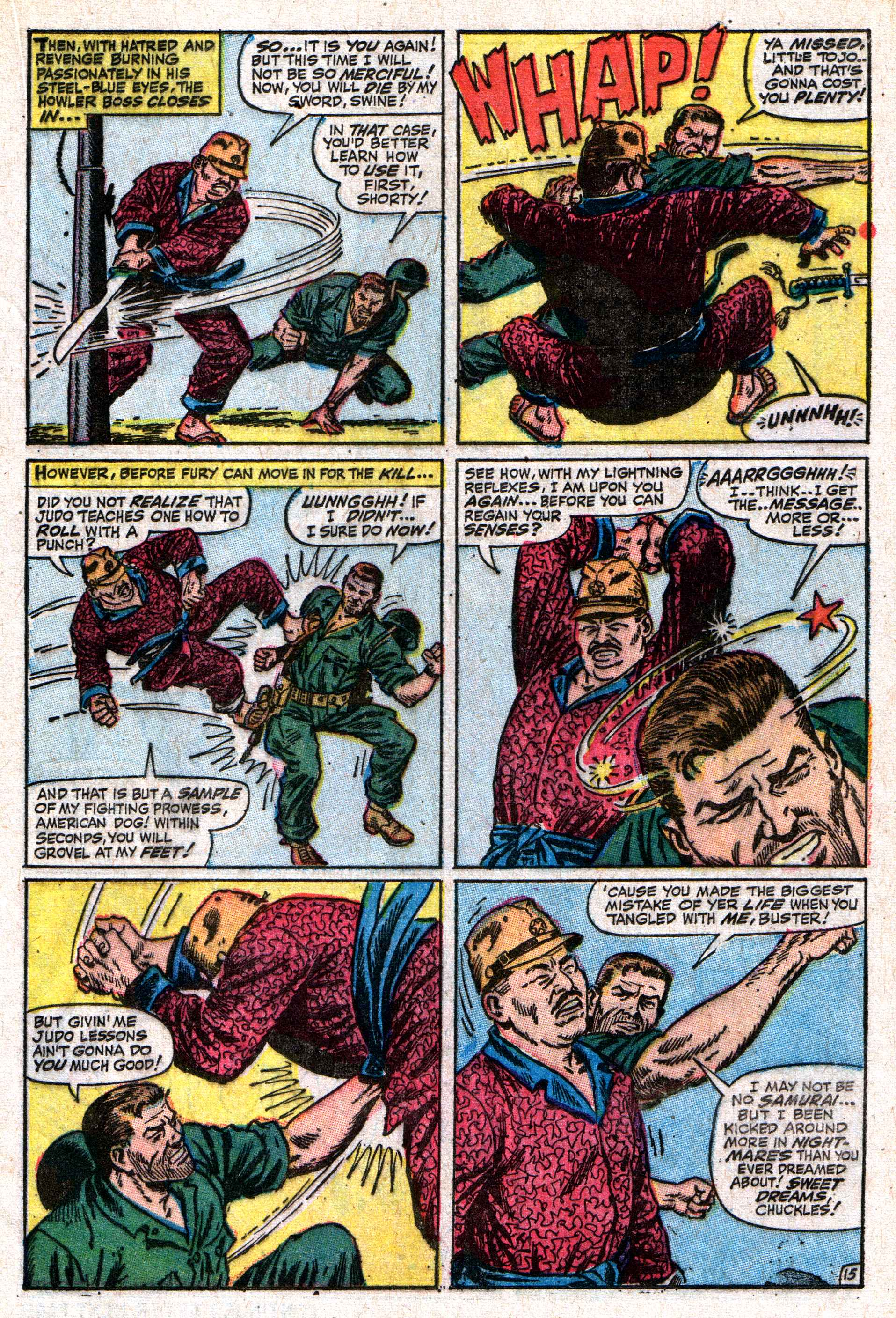 Read online Sgt. Fury comic -  Issue #50 - 21