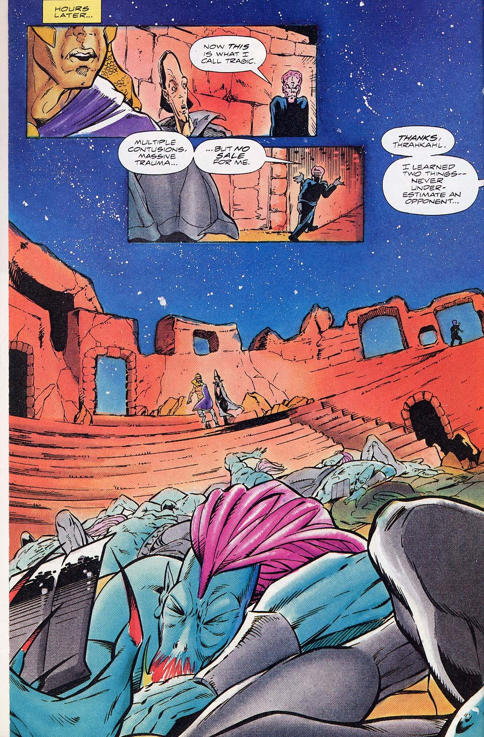 Read online Charlemagne comic -  Issue #5 - 15