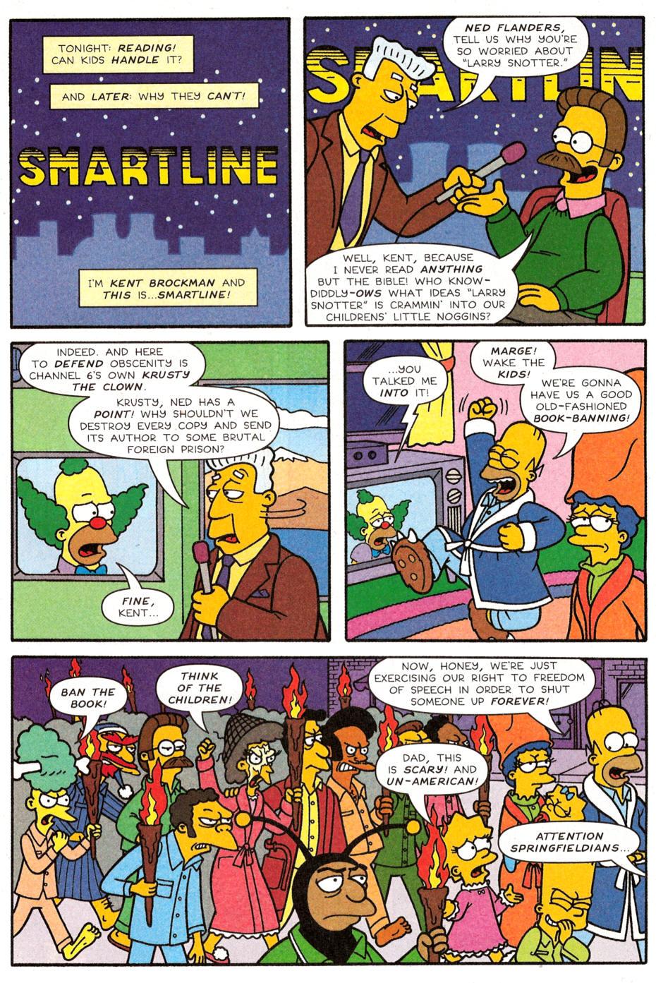 Read online Simpsons Comics Presents Bart Simpson comic -  Issue #30 - 12