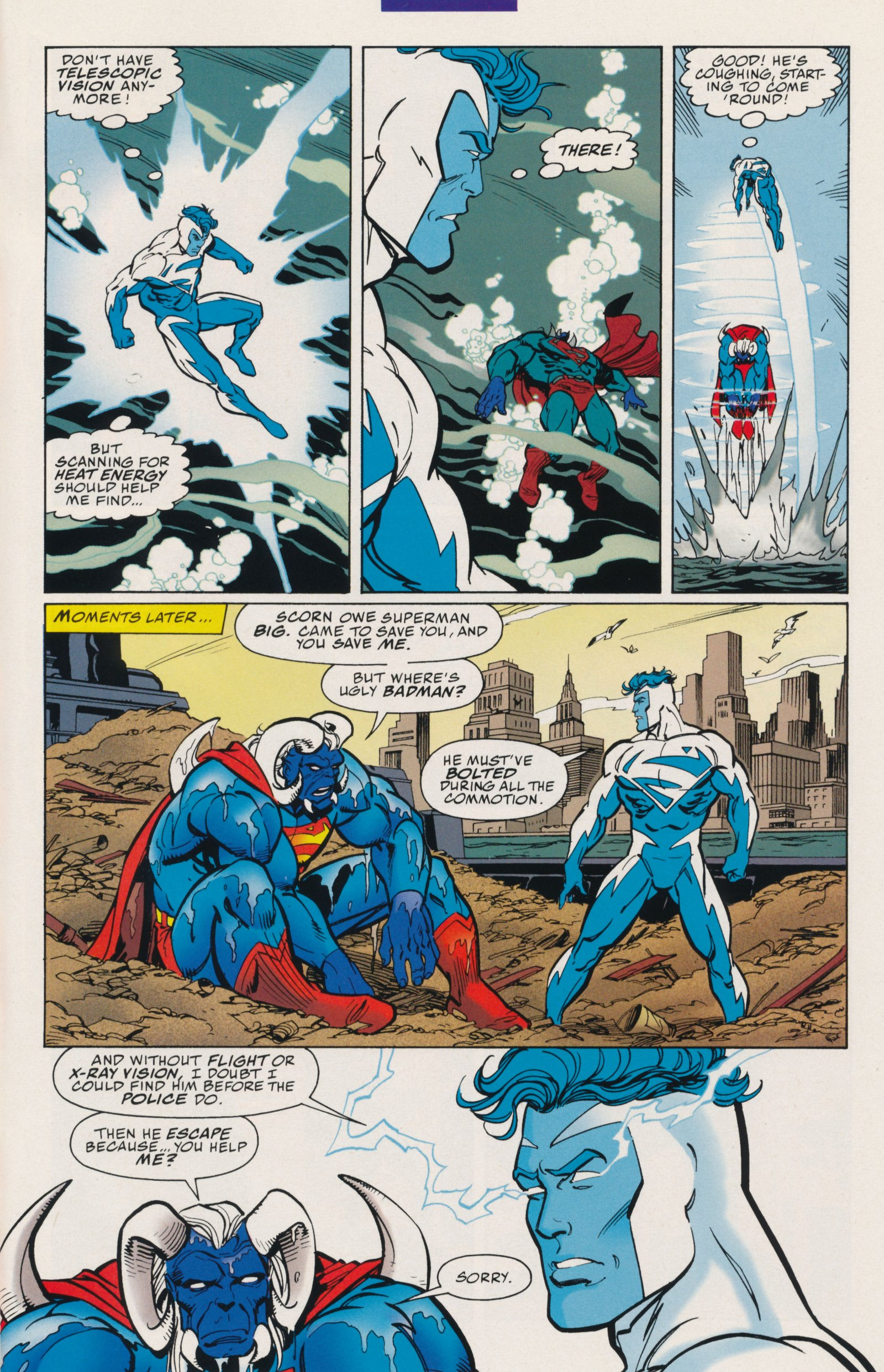 Read online Action Comics (1938) comic -  Issue #735 - 30