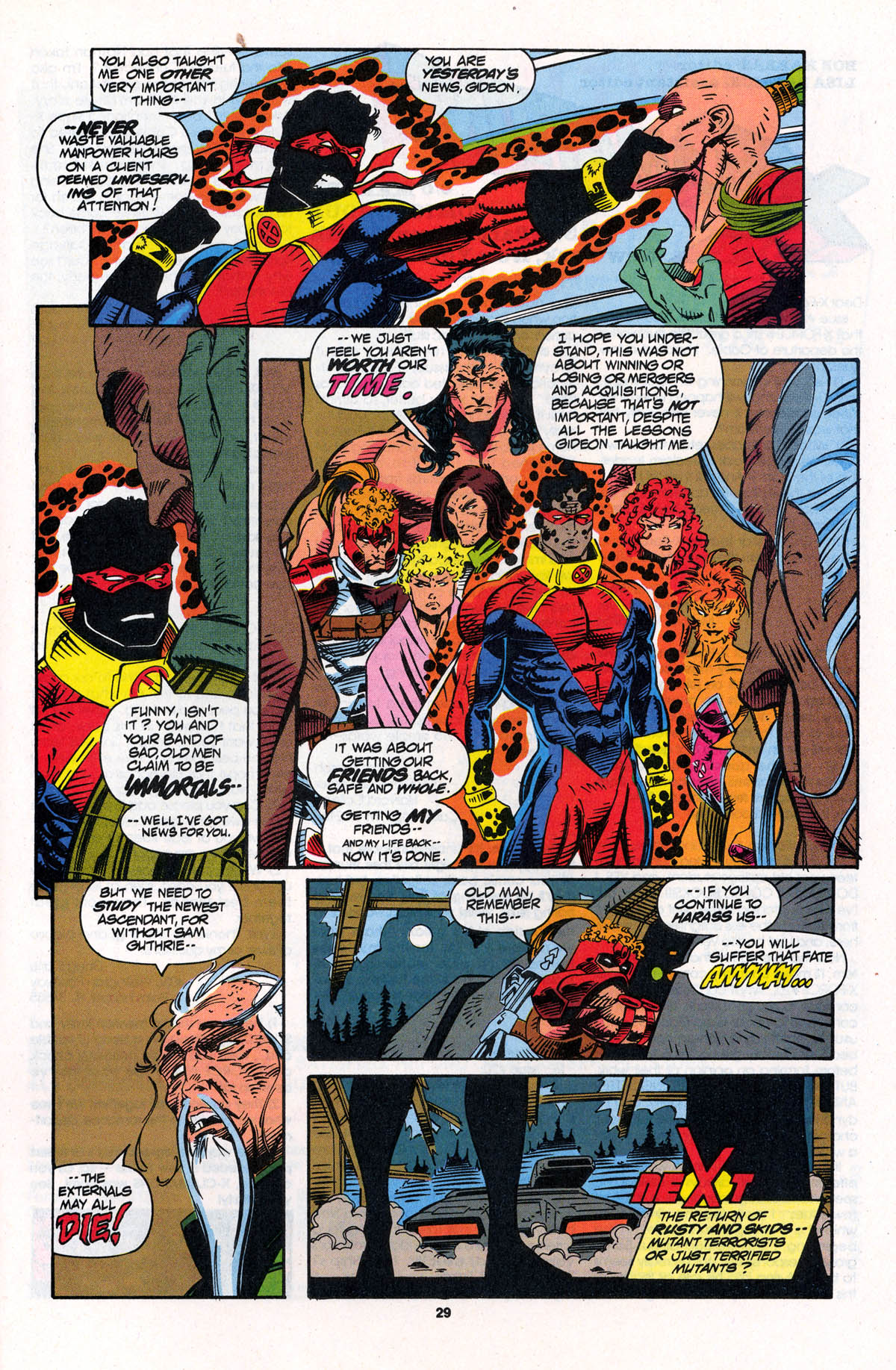 Read online X-Force (1991) comic -  Issue #23 - 29