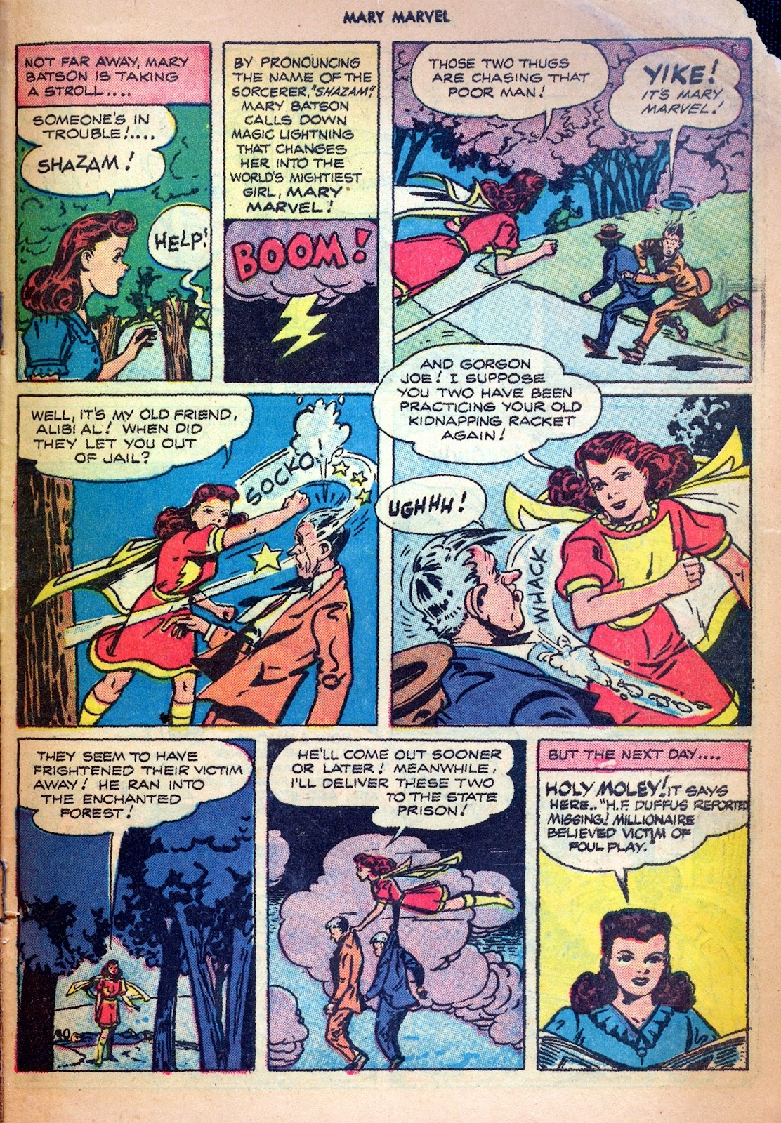 Read online Mary Marvel comic -  Issue #19 - 29
