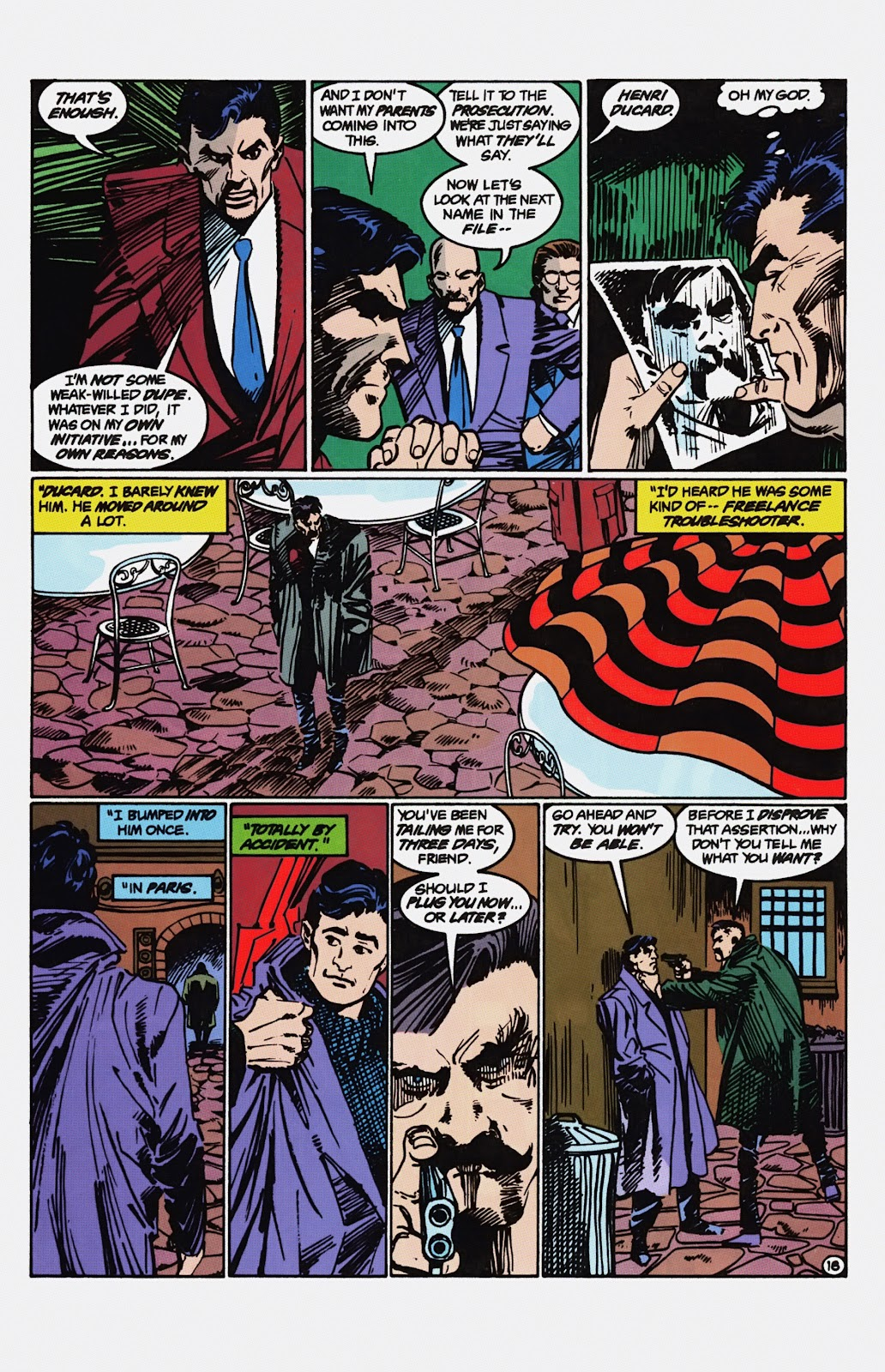 Read online Detective Comics (1937) comic -  Issue # _TPB Batman - Blind Justice (Part 1) - 83