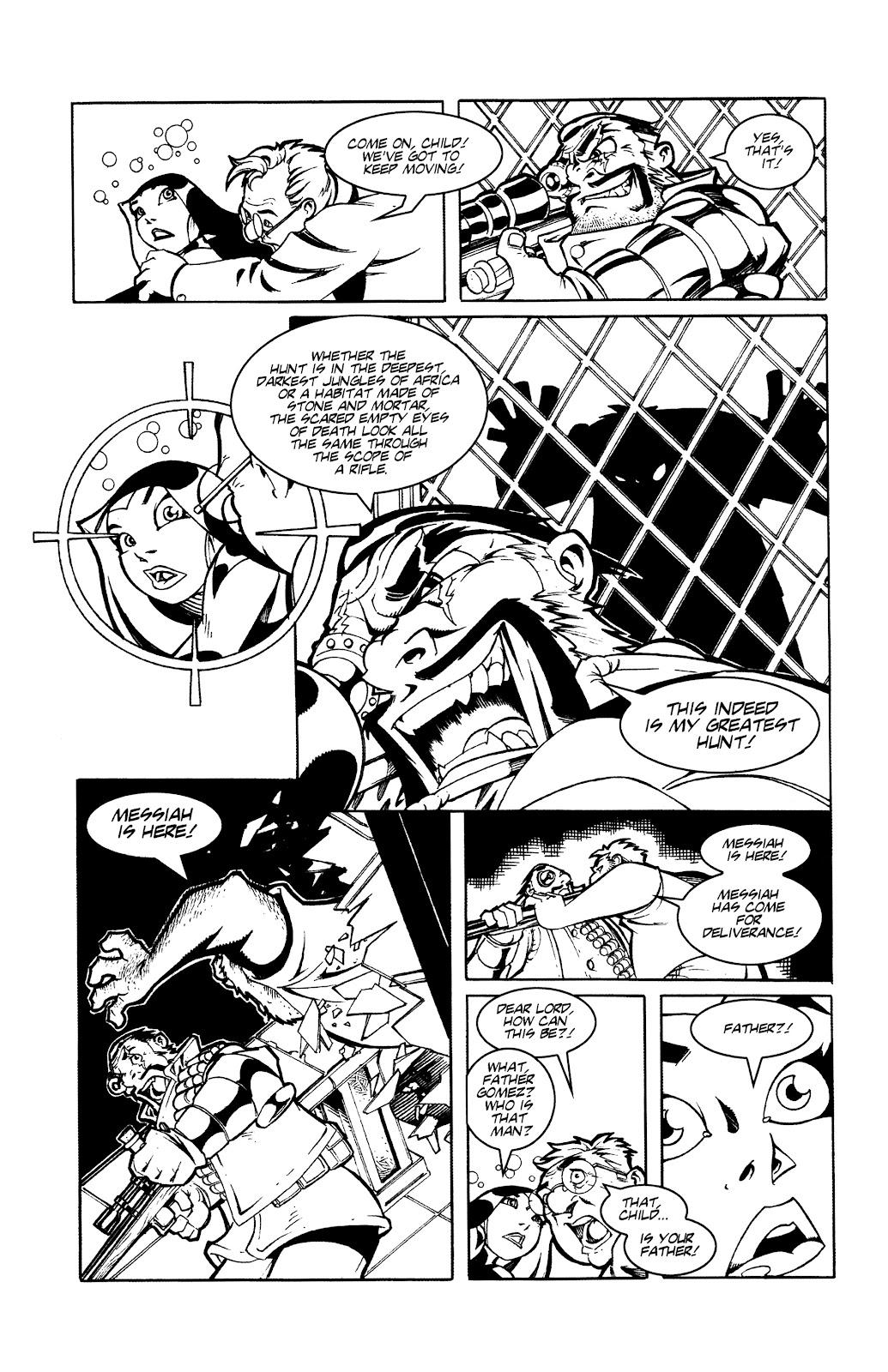 Warrior Nun Areala:  Dangerous Game Issue #3 #3 - English 14