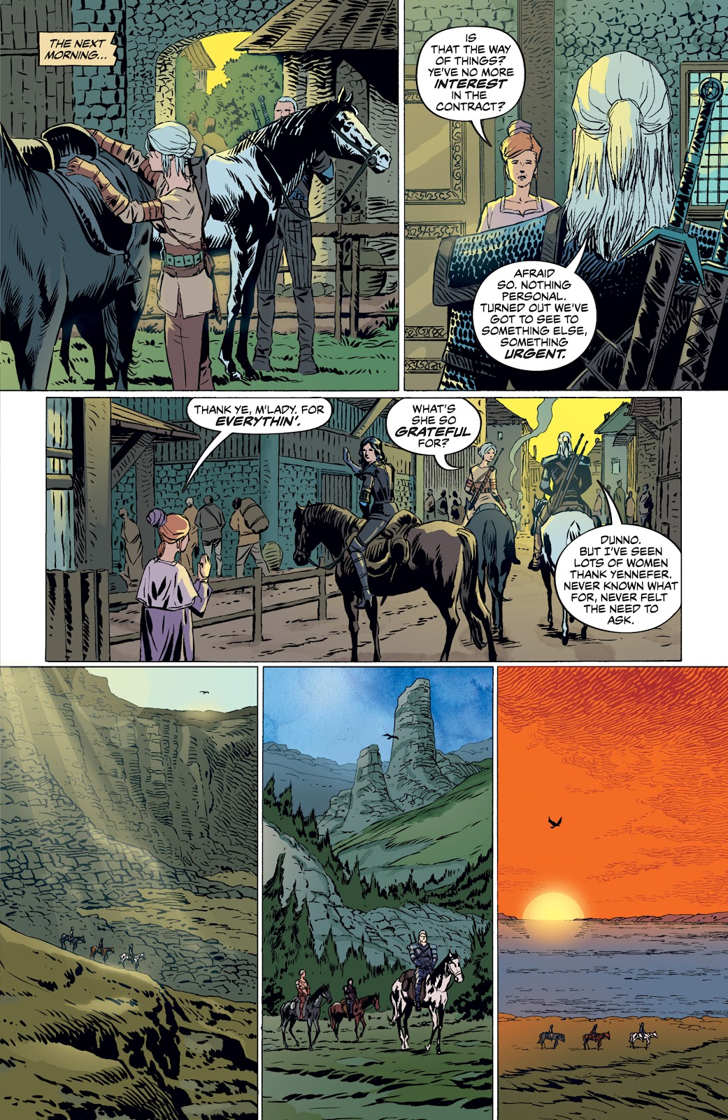 Read online The Witcher Omnibus comic -  Issue # TPB (Part 4) - 57