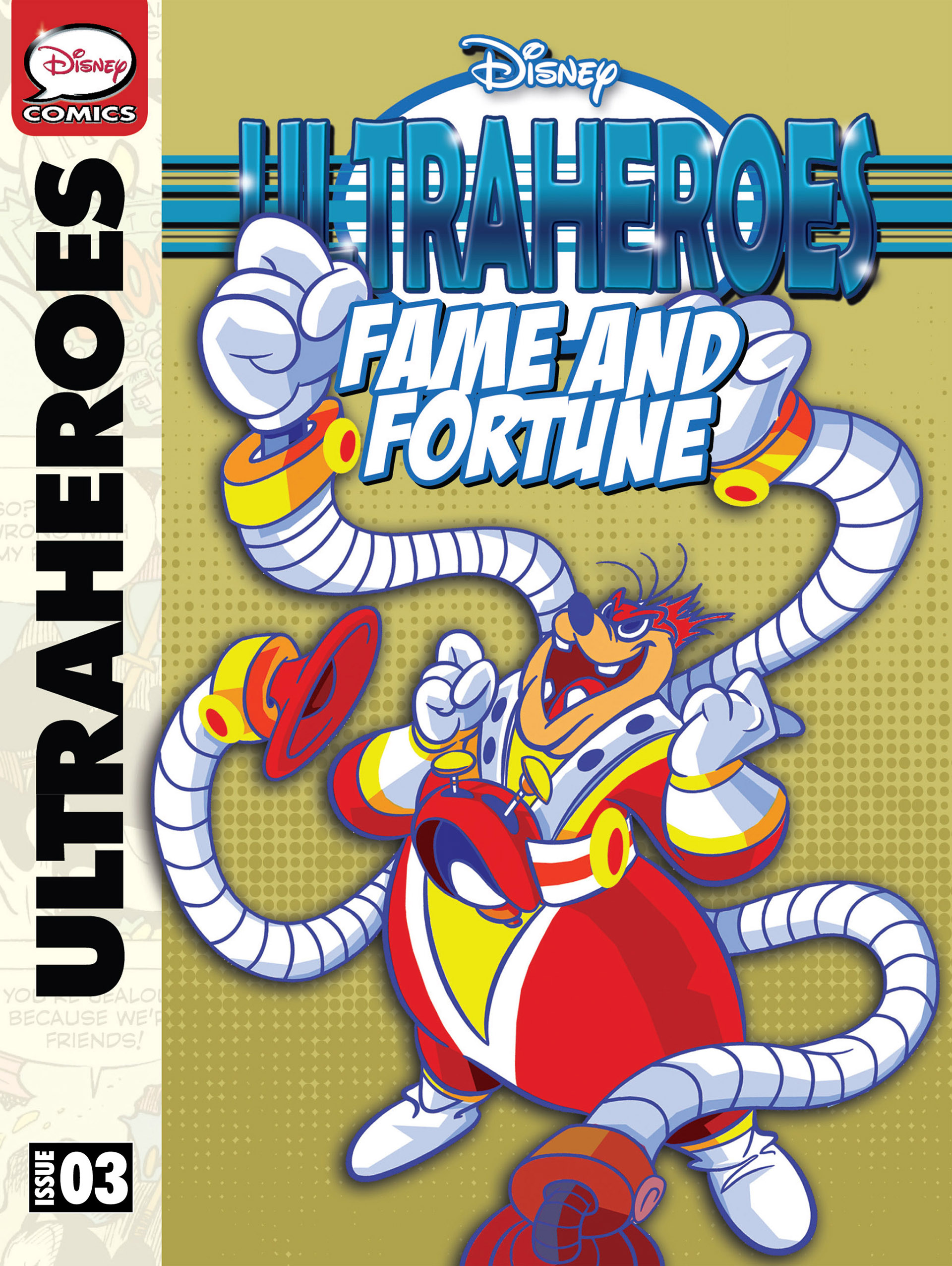 Read online Ultraheroes comic -  Issue #3 - 1