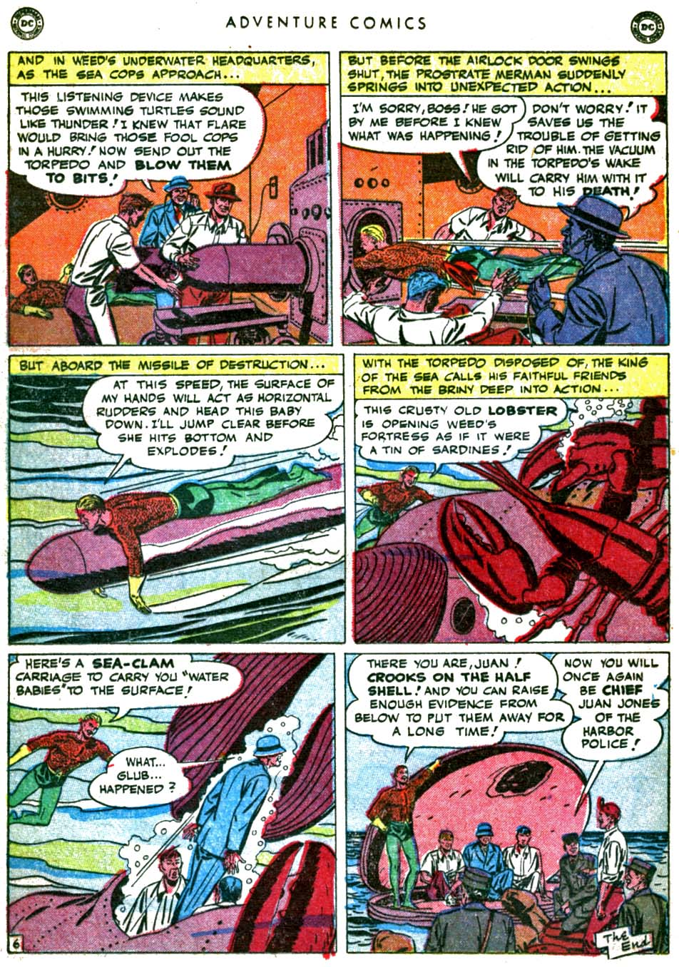 Read online Adventure Comics (1938) comic -  Issue #160 - 22
