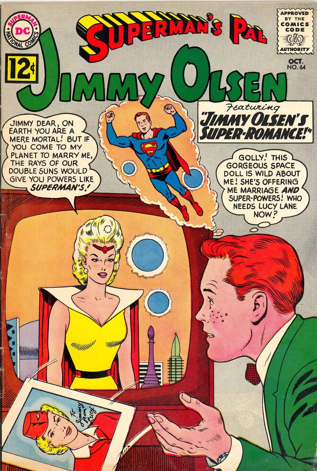 Supermans Pal Jimmy Olsen (1954) 64 Page 1