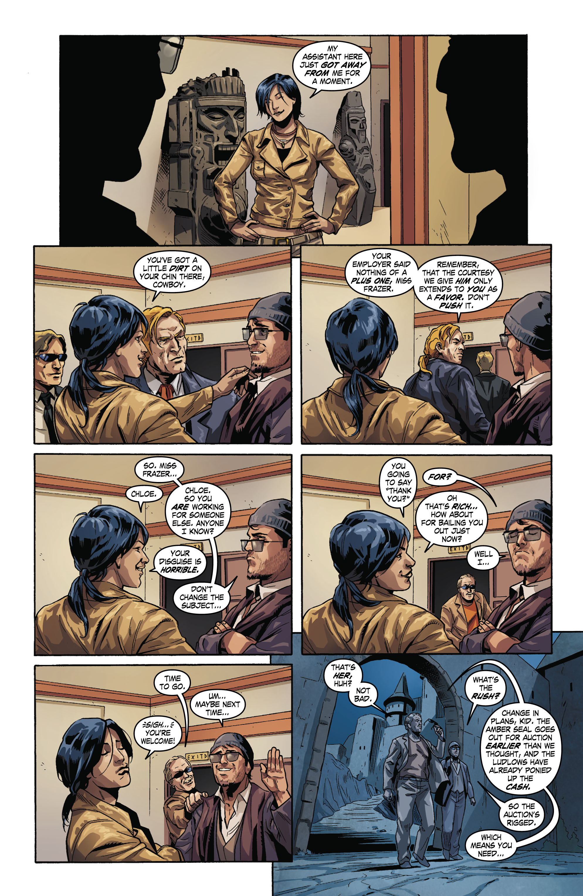 Read online Uncharted comic -  Issue #2 - 8